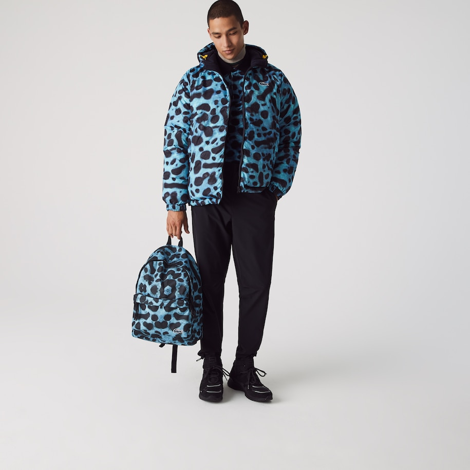Men's Lacoste x National Geographic Animal Print Backpack