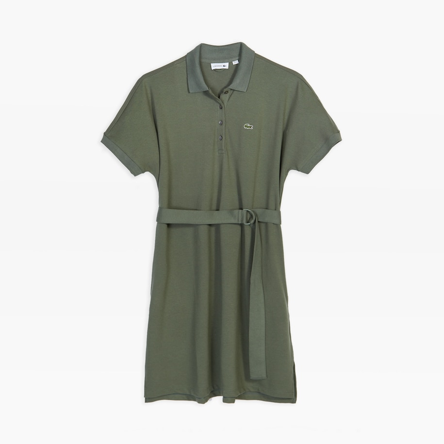Women's Kimono-Sleeved Wide Polo Dress