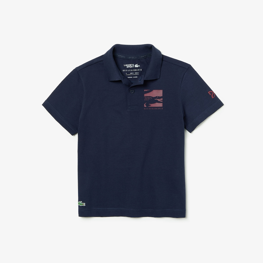 Boys' SPORT Novak Djokovic Cotton Polo