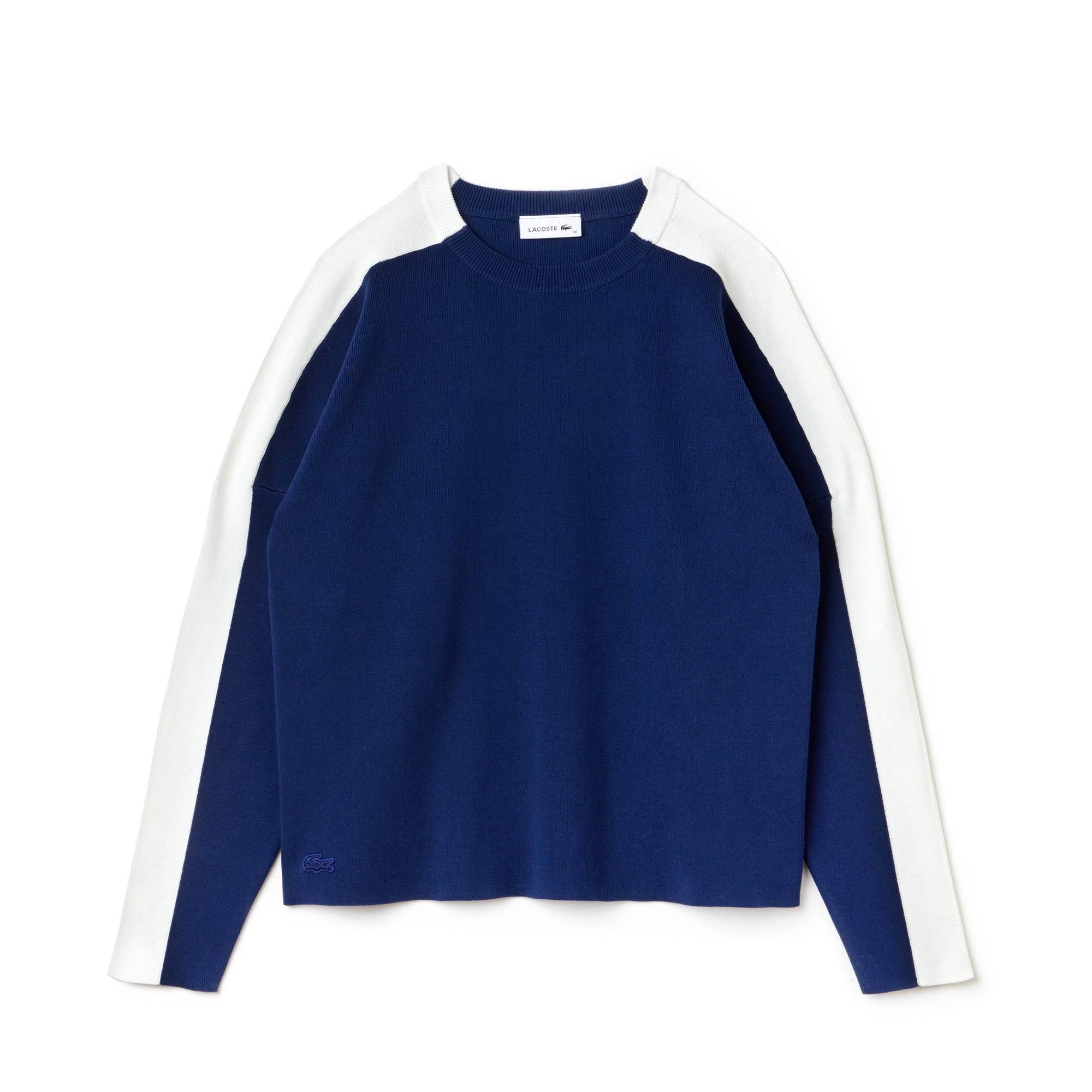 Women's Colorblock Cotton Knit Sweatshirt
