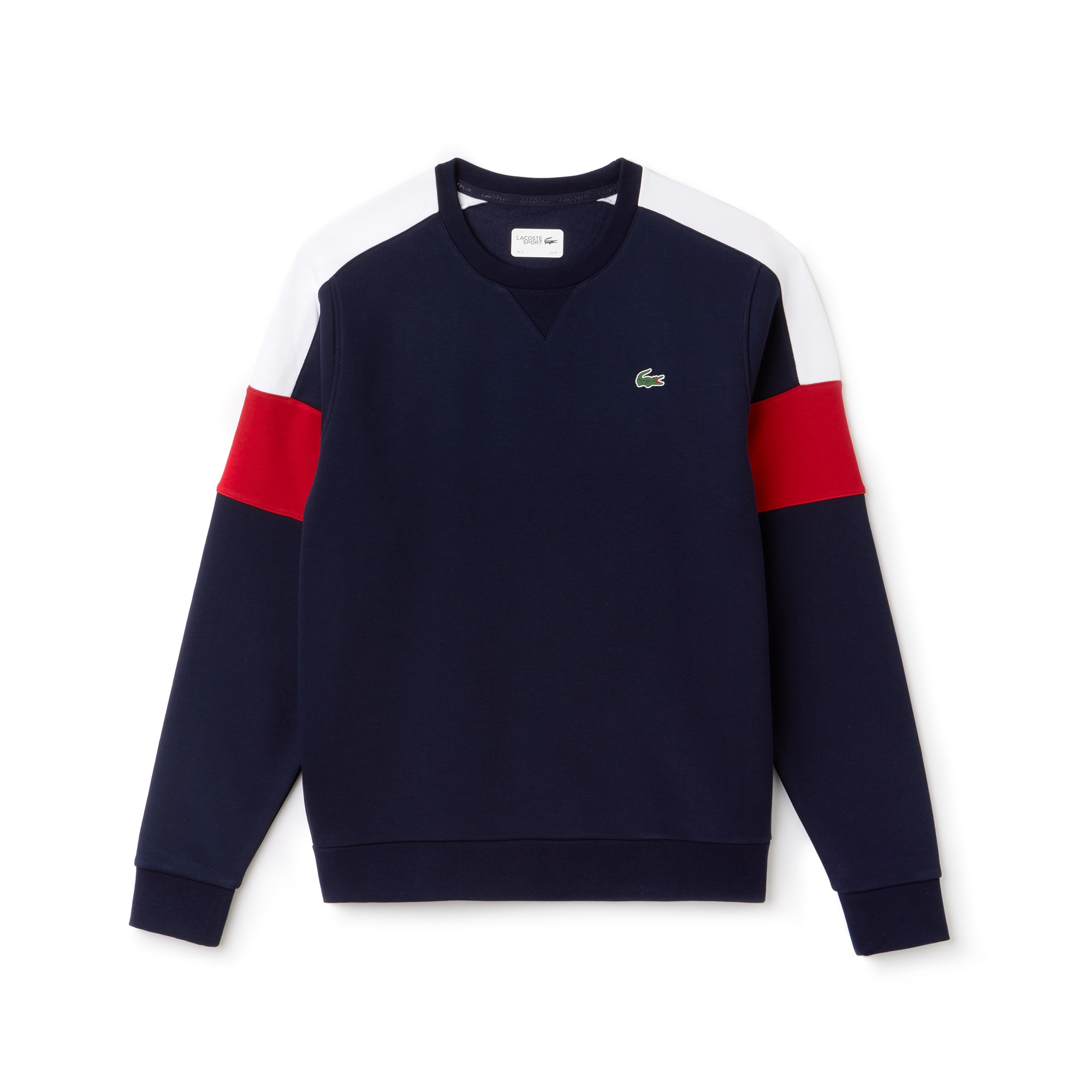 Men's SPORT Colorblock Fleece Tennis Sweatshirt
