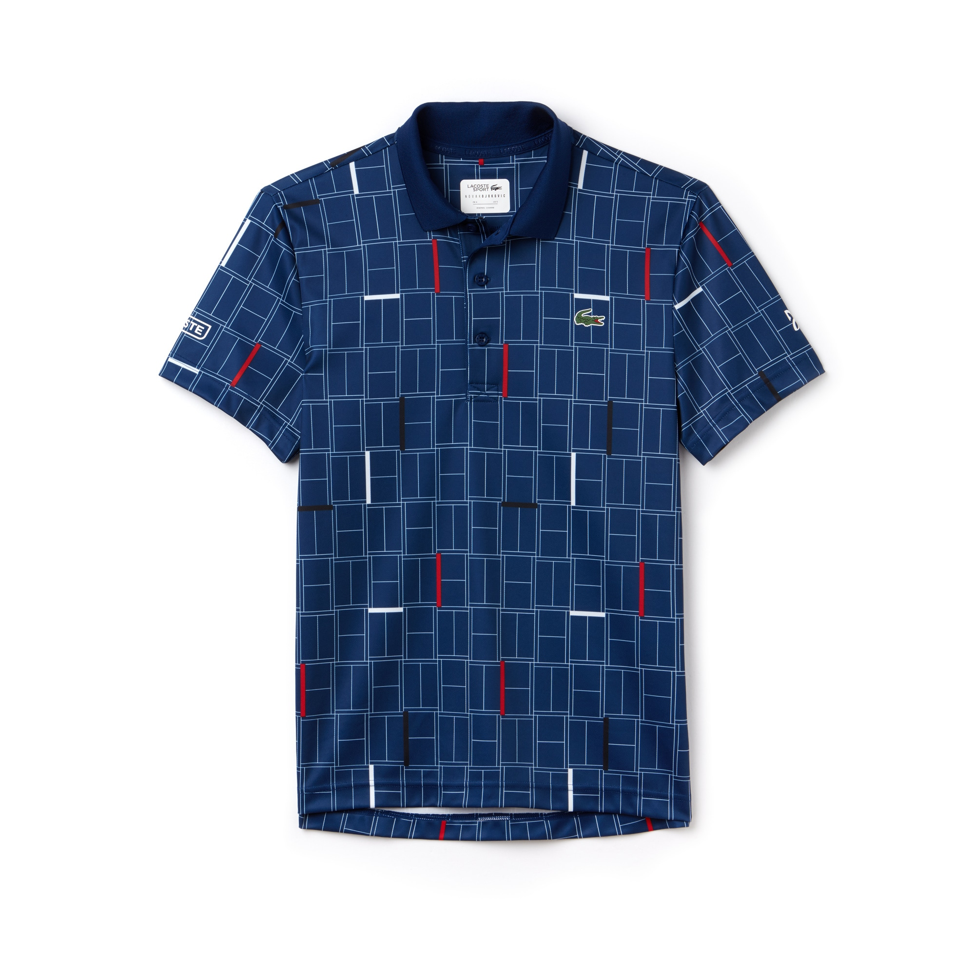 Men's SPORT Print Piqué Tennis Polo