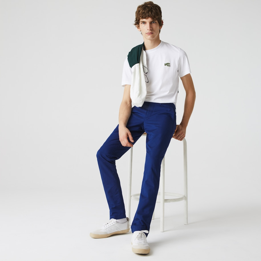 Men's Cotton-Linen Chinos