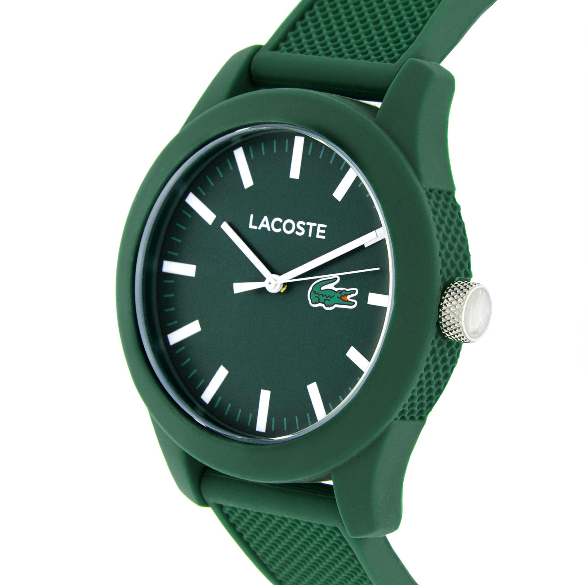 Green Lacoste L.12.12 Watch
