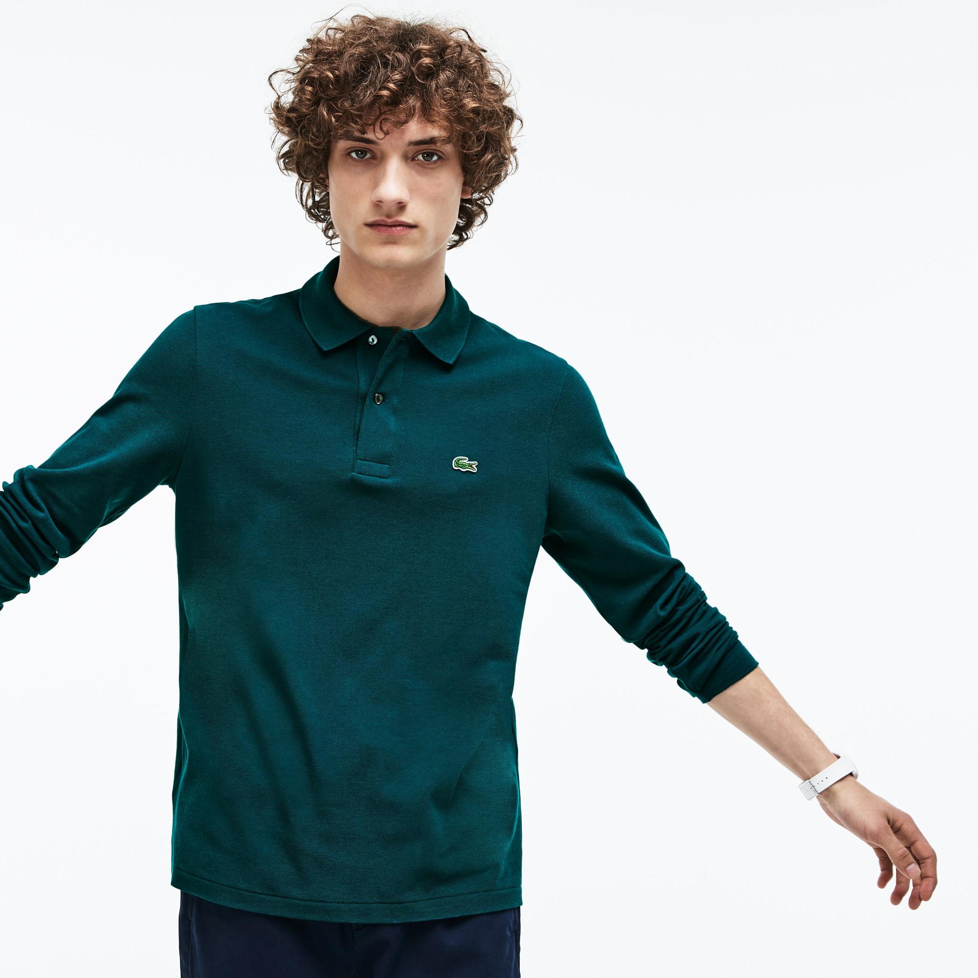 Men's Long-sleeve L.12.12 Polo Shirt