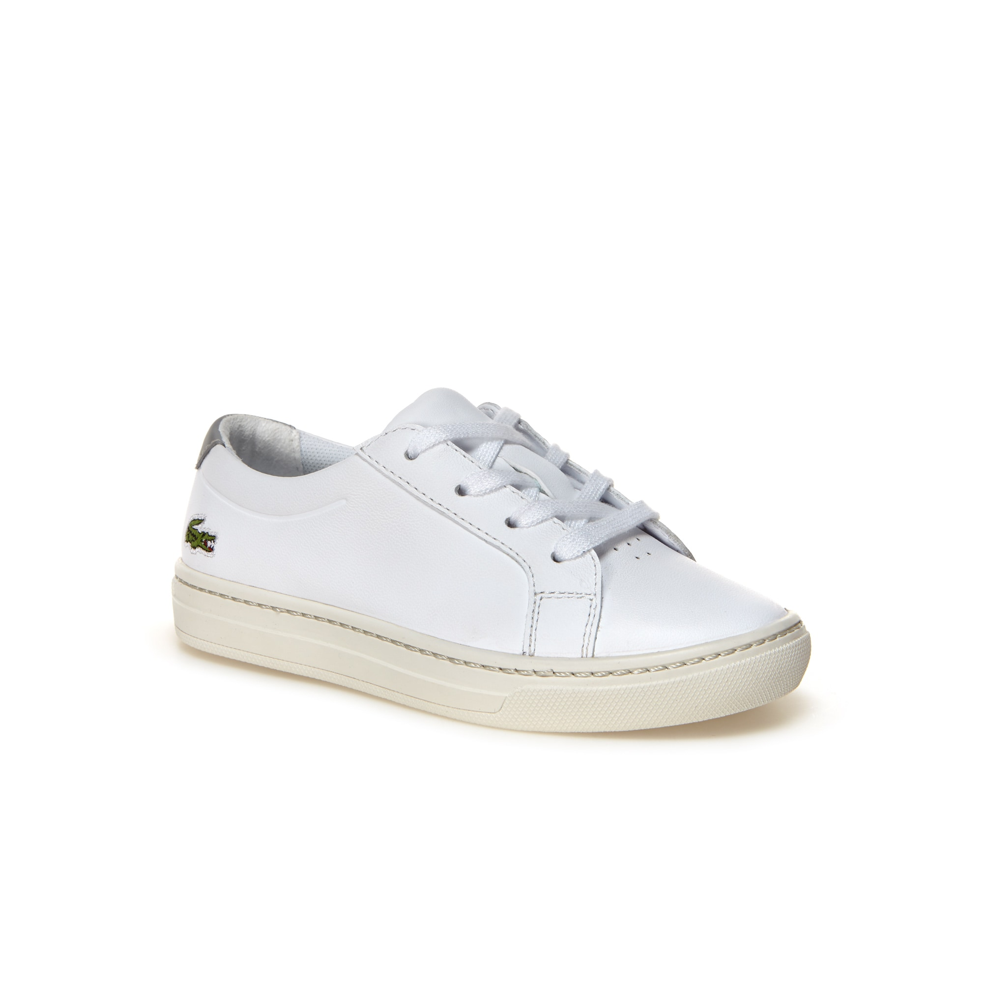 Kids' L.12.12 Leather Trainers