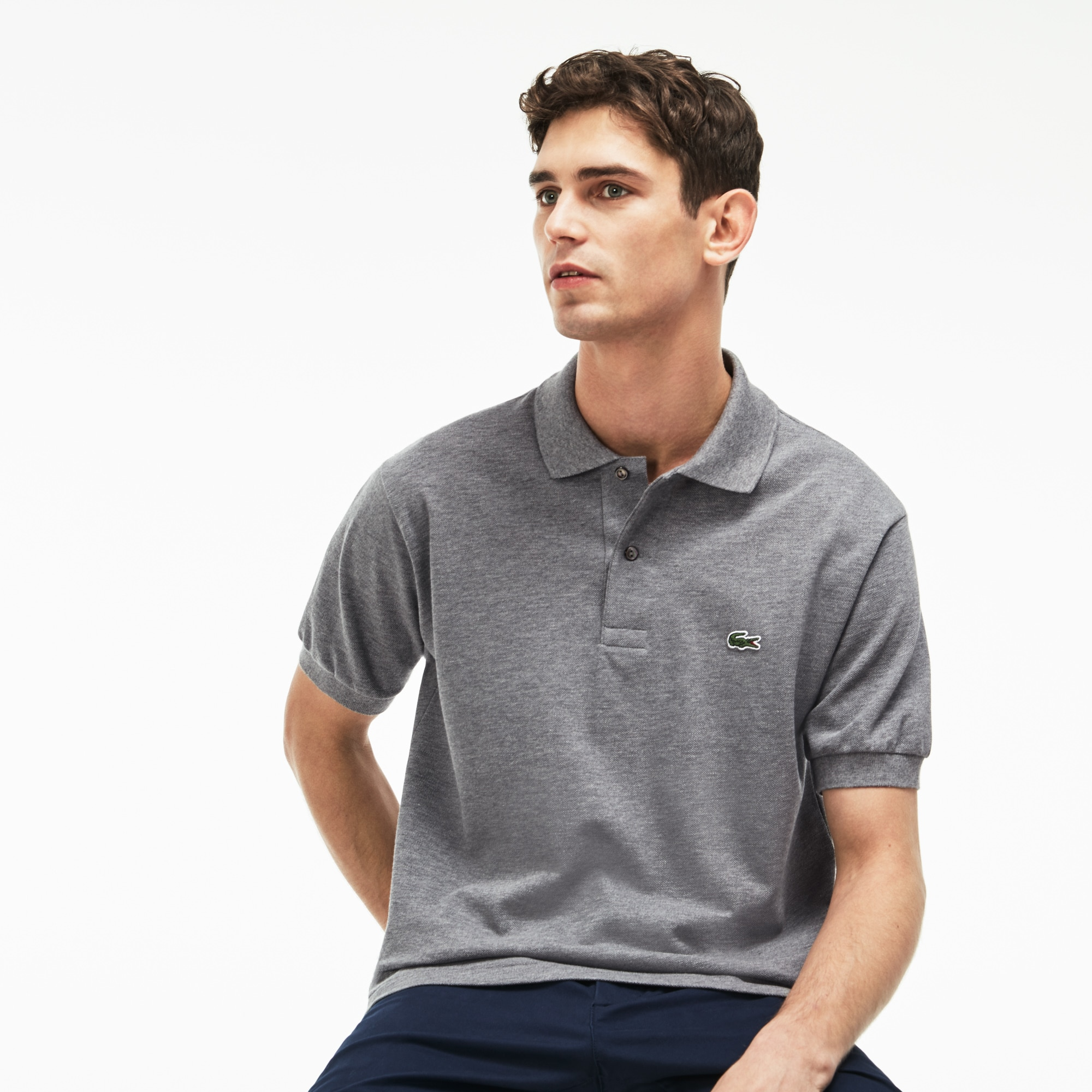 Men's Classic L.12.12 Chiné Piqué Polo