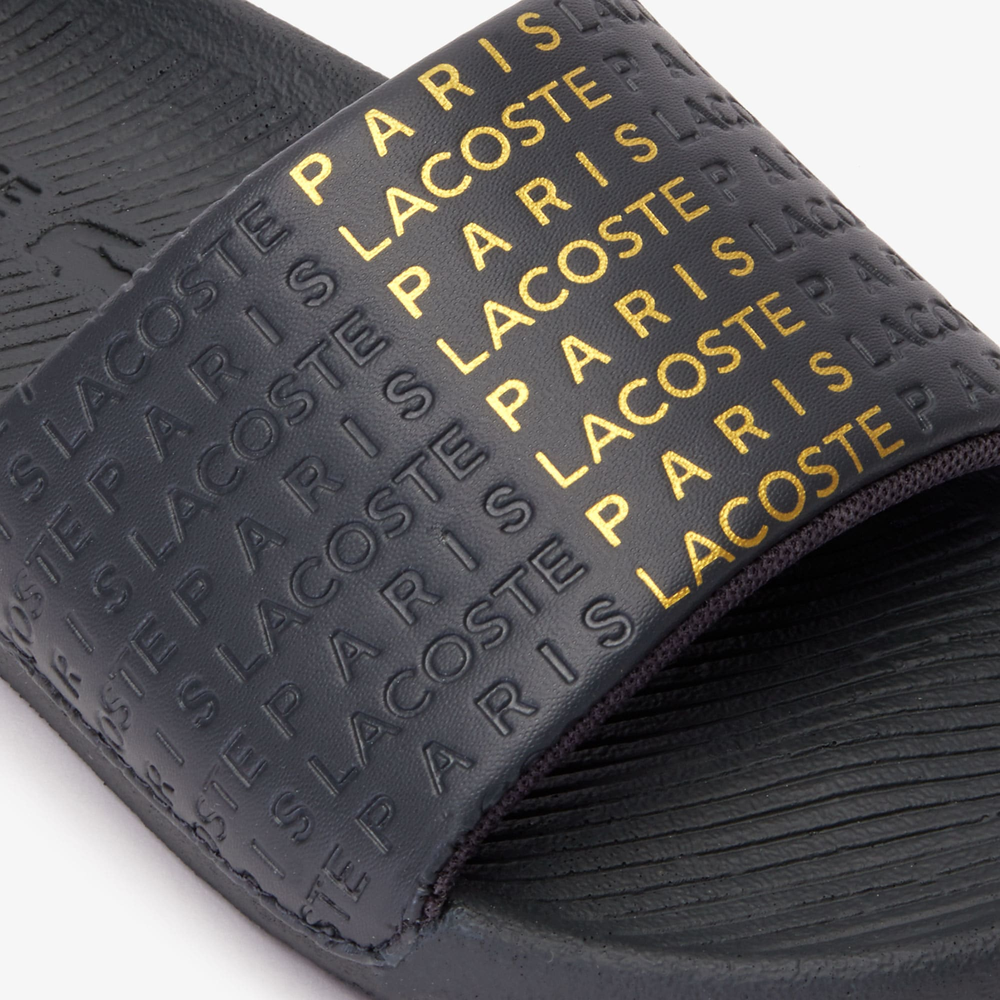 Women's 'Lacoste Paris' Slides