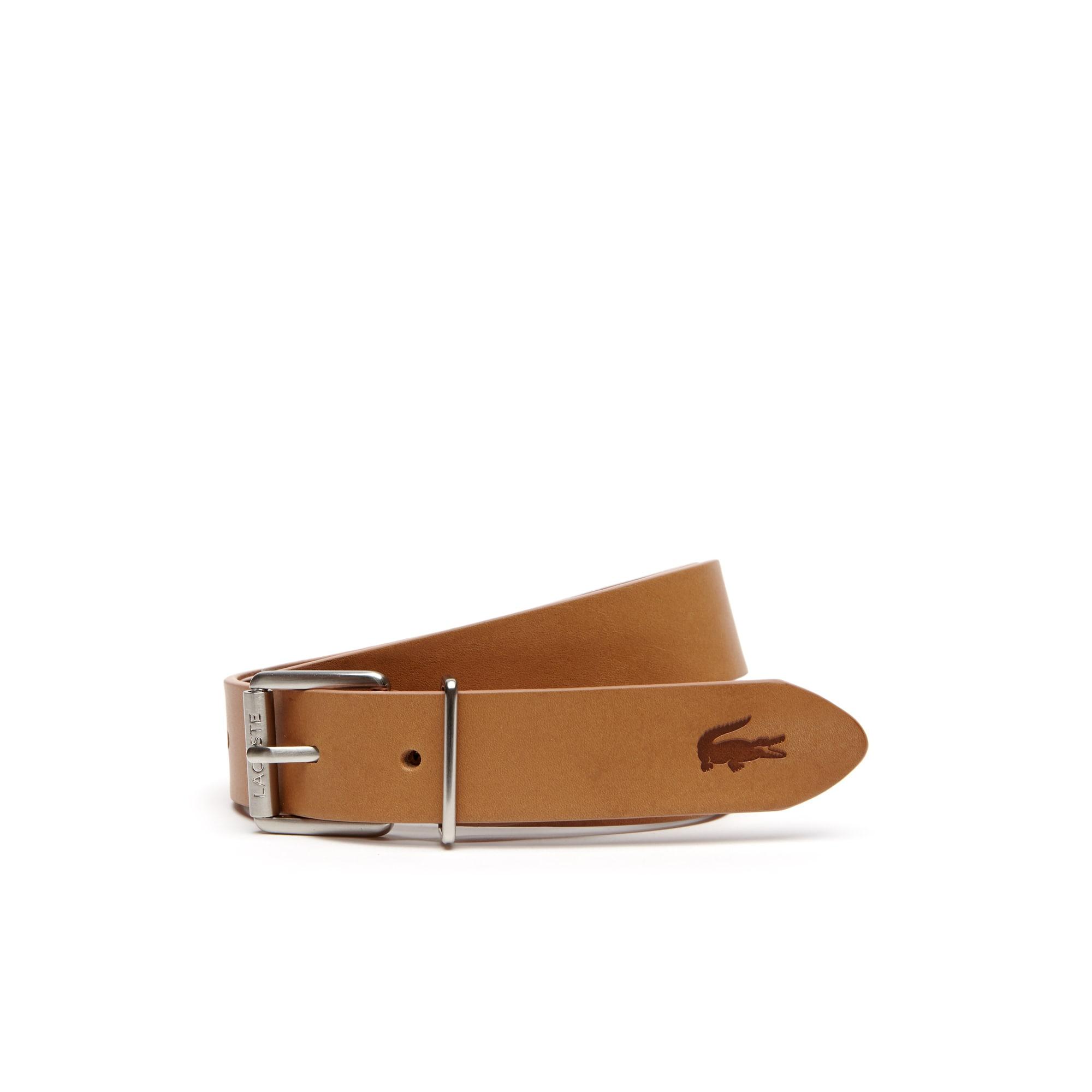 Men's Matte Leather Belt