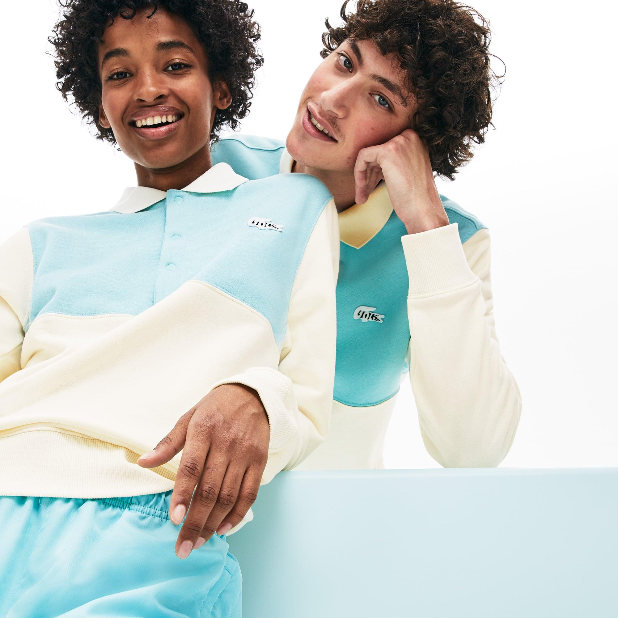 Lacoste Tops Lacoste x GOLF le FLEUR Two-Tone Fleece Sweatshirt