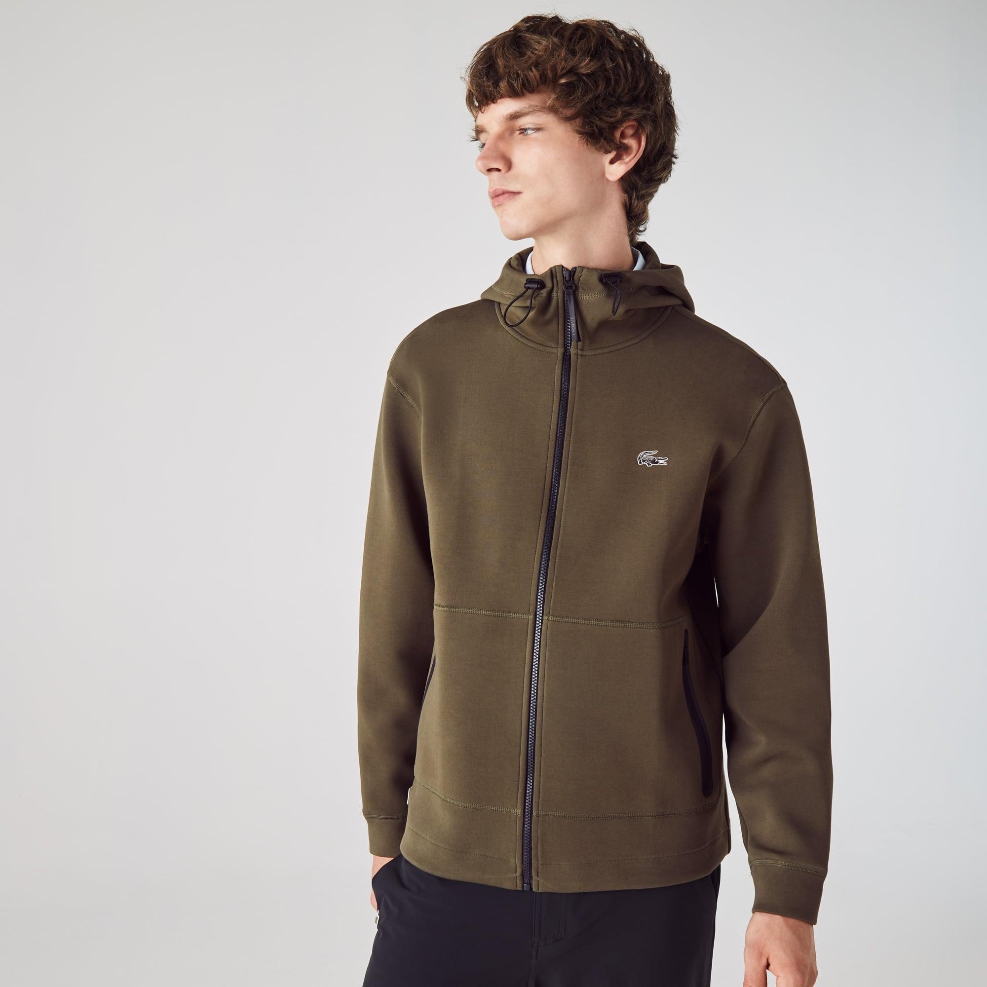 Lacoste Mens Sweat Jacket zipjacke Jacket Hoodie Navy Blue New RRP 129 €