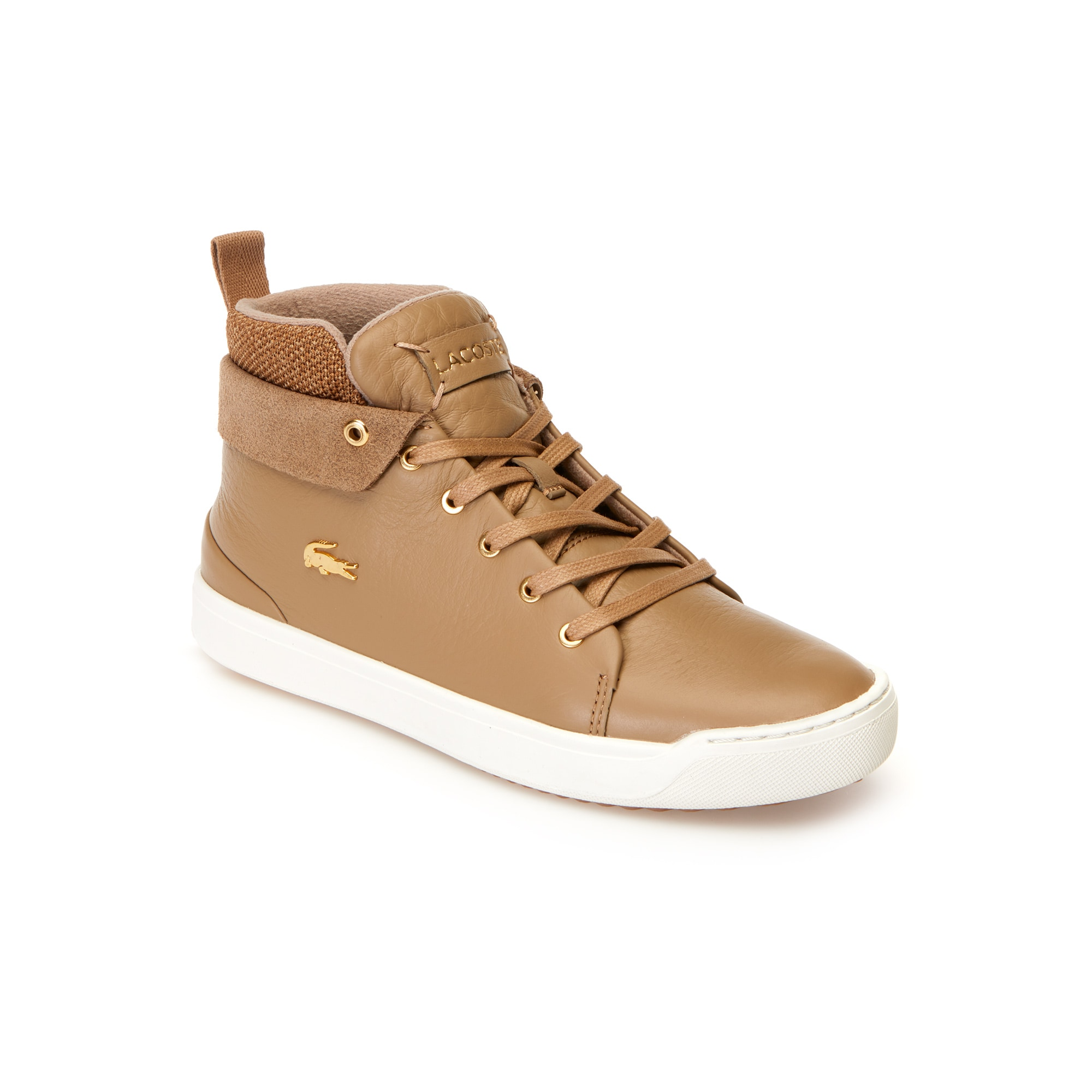 Women's Explorateur Classic Mid Leather And Textile Trainers