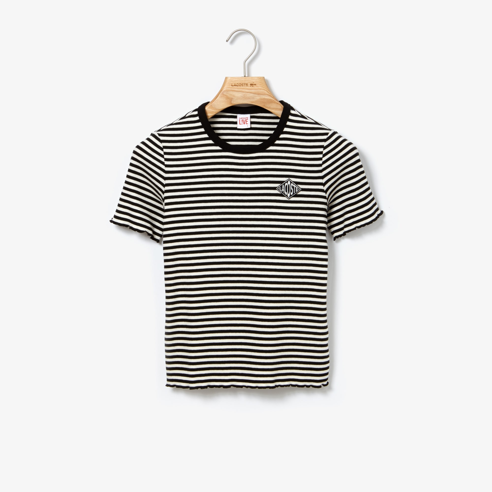 Women's LIVE Crew Neck Cotton T-Shirt