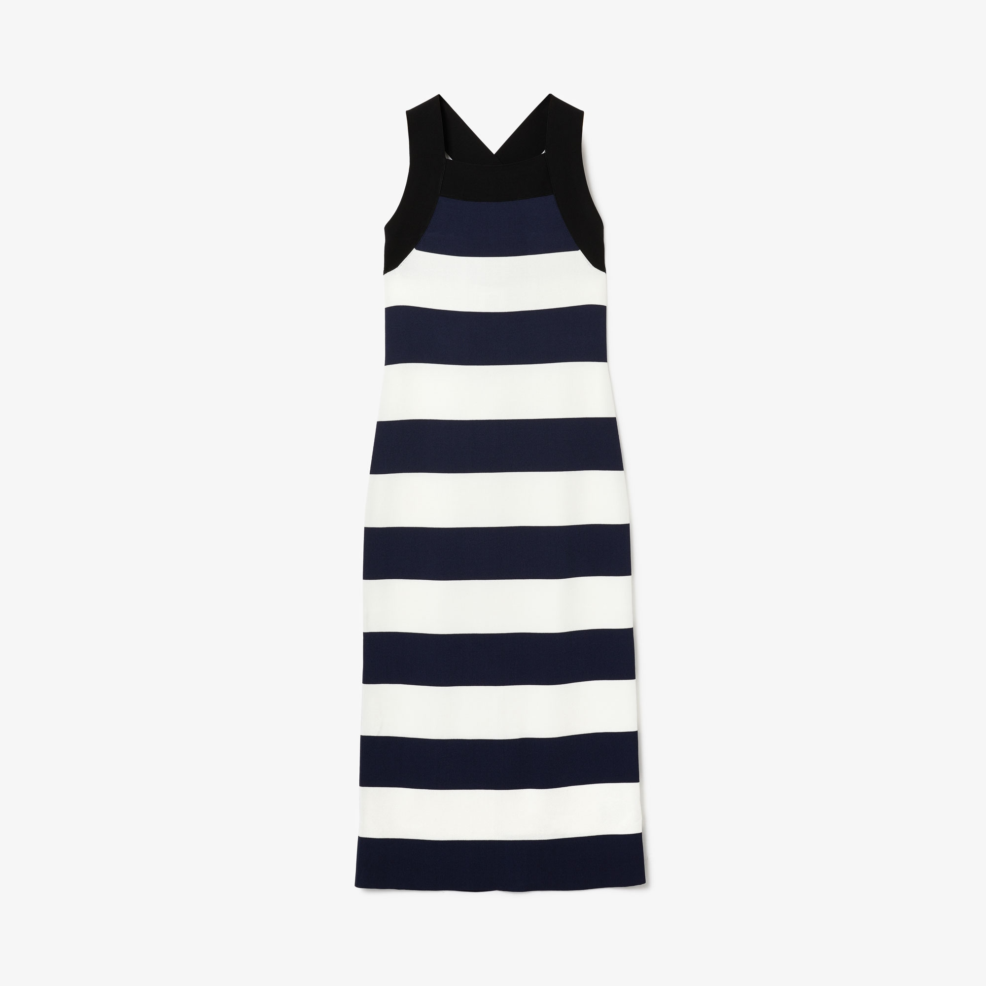 Women's Lacoste LIVE Striped Knit Maxi Dress