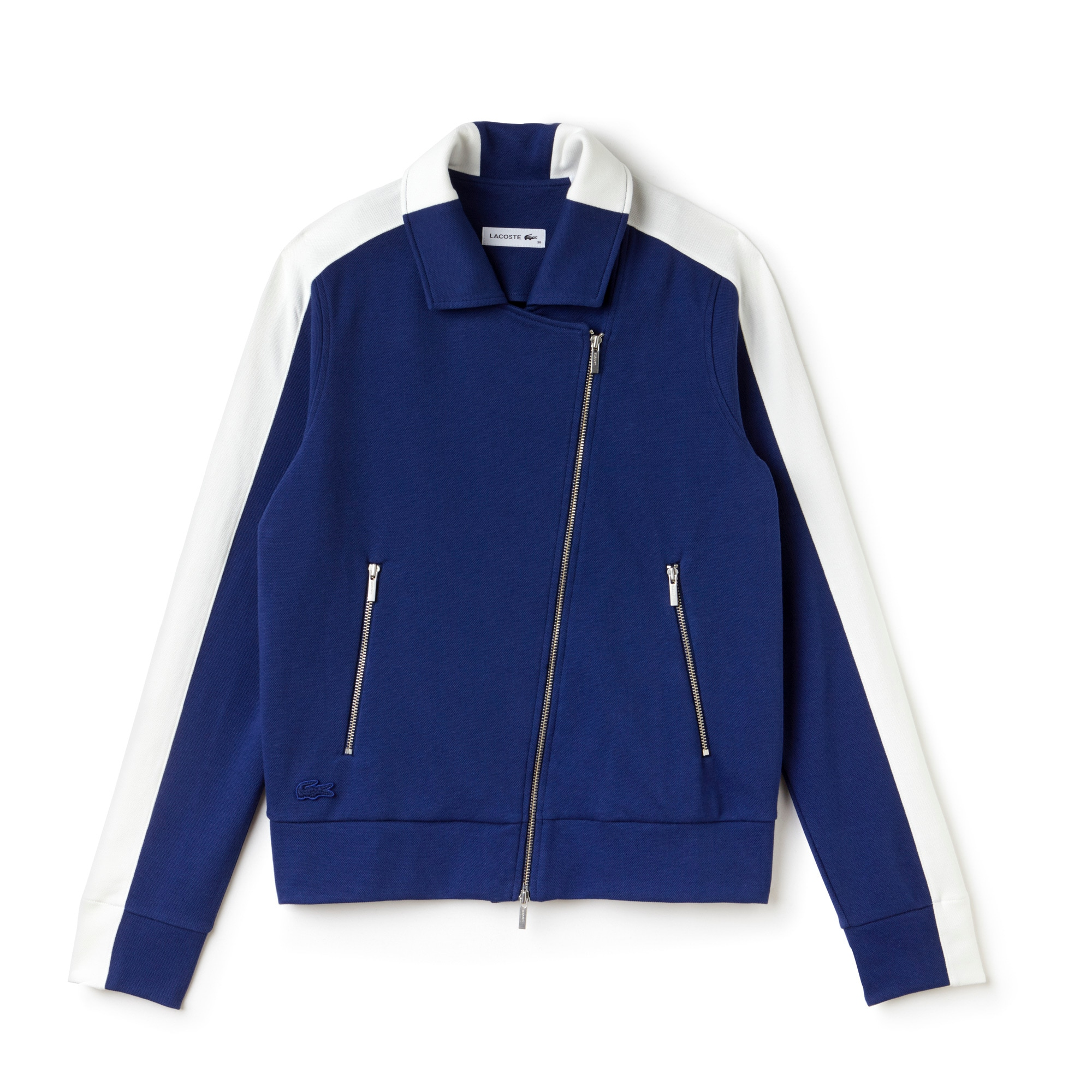 Women's Contrast Band Interlock Piqué Jacket