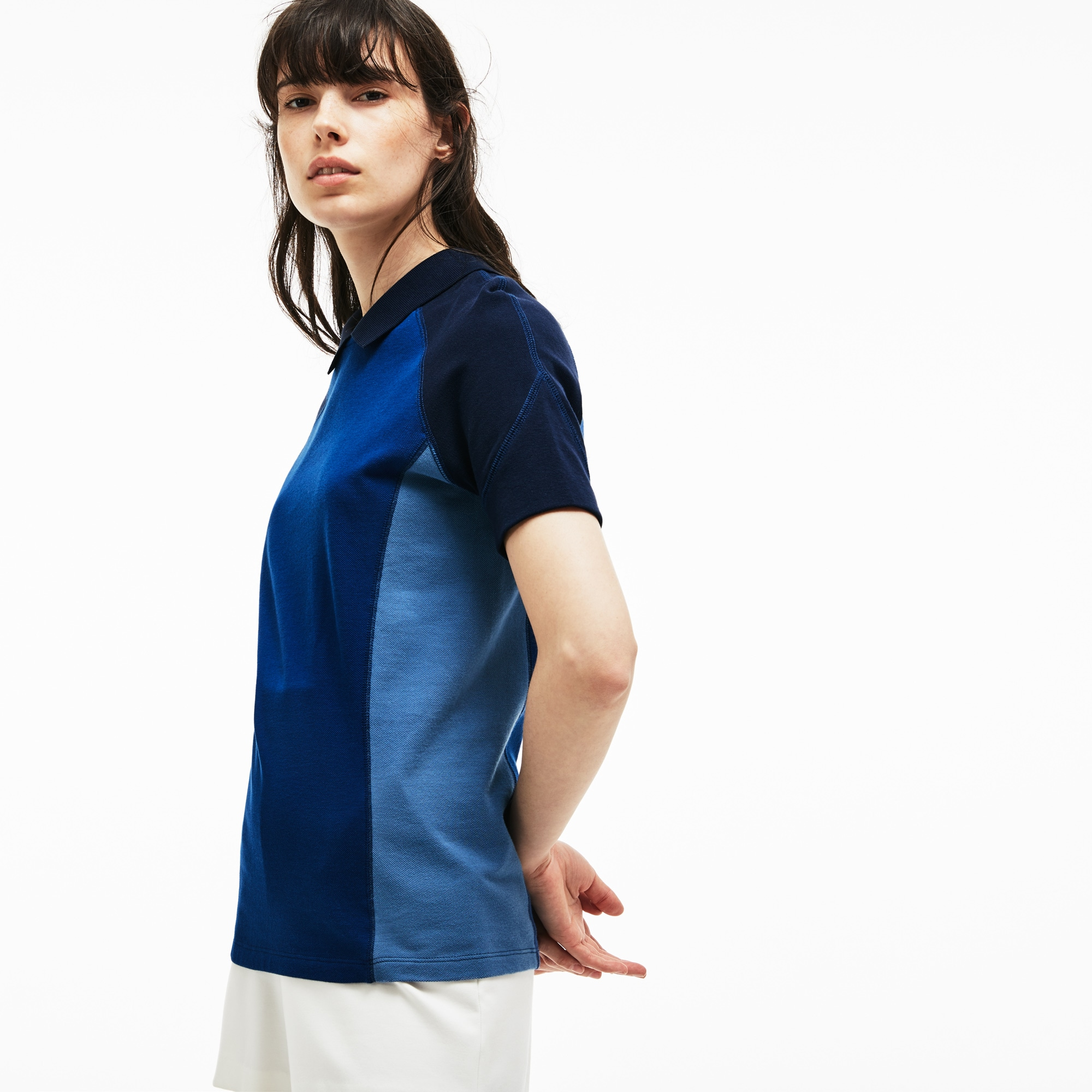 Women's Brushed Cotton Piqué Polo