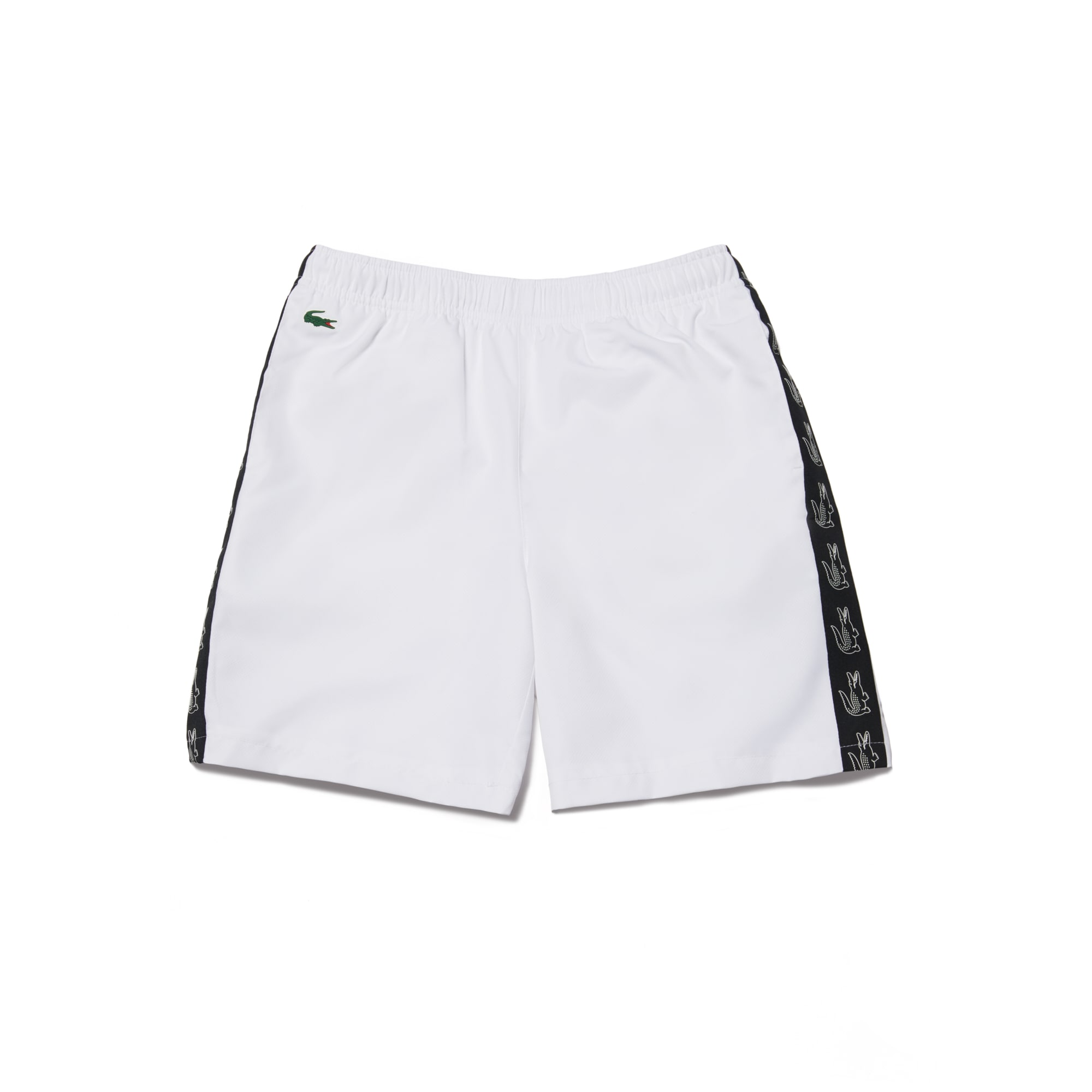 Boys' Lacoste SPORT Croc Print Band Lightweight Tennis Shorts