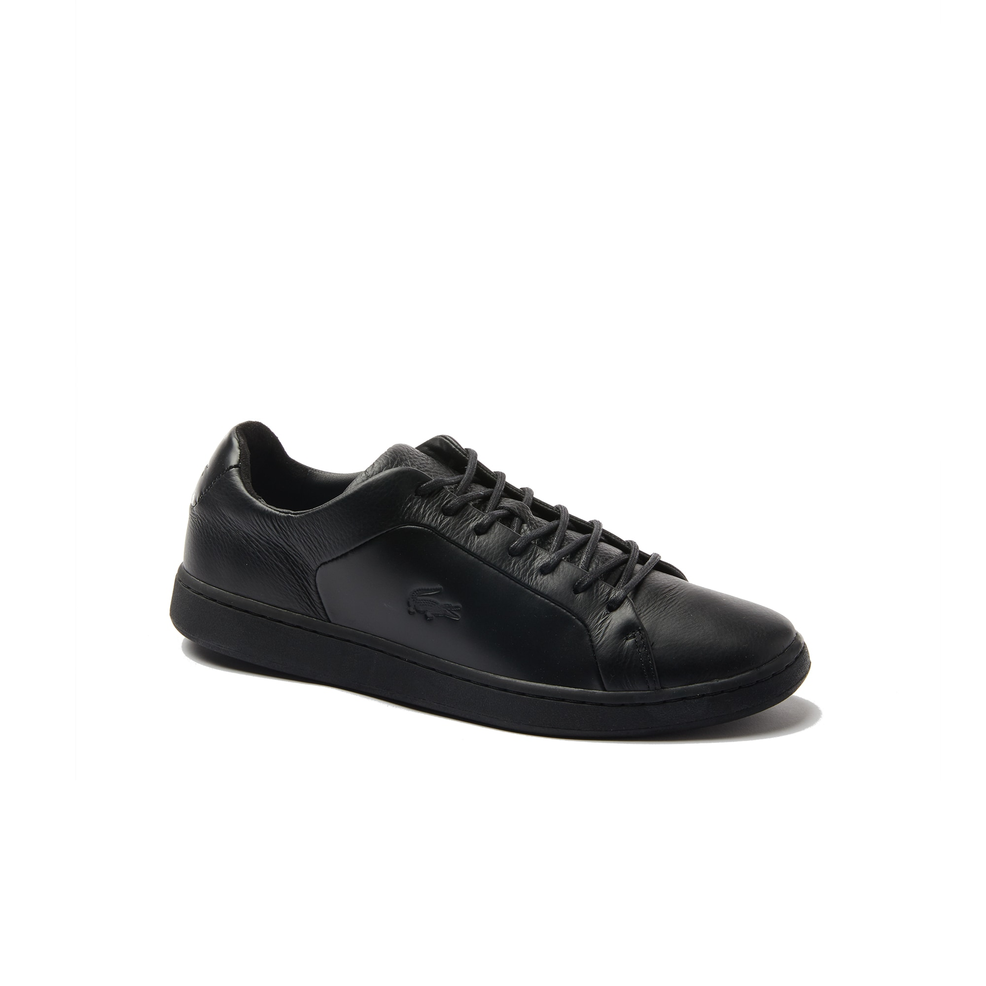 Lacoste MEN'S CARNABY EVO LEATHER AND SUEDE SNEAKERS