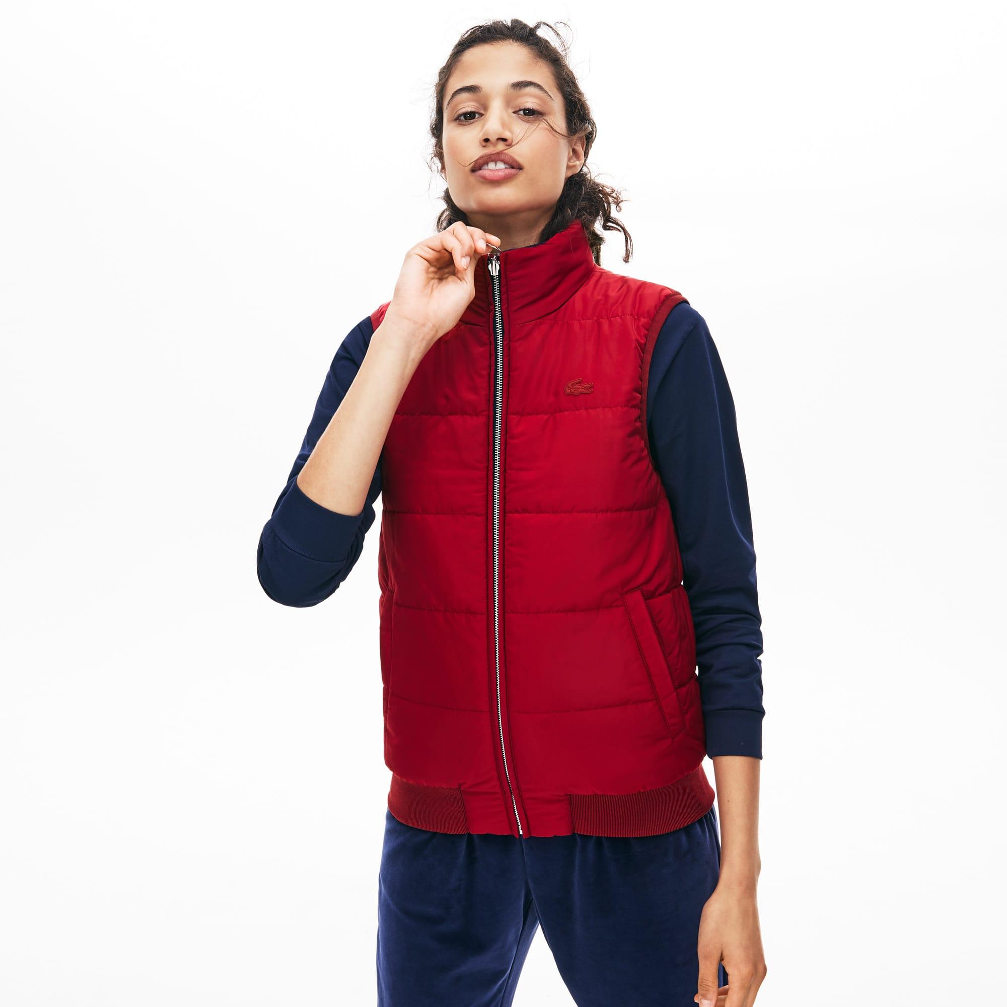 Lacoste Coats Women's Reversible Hooded Vest