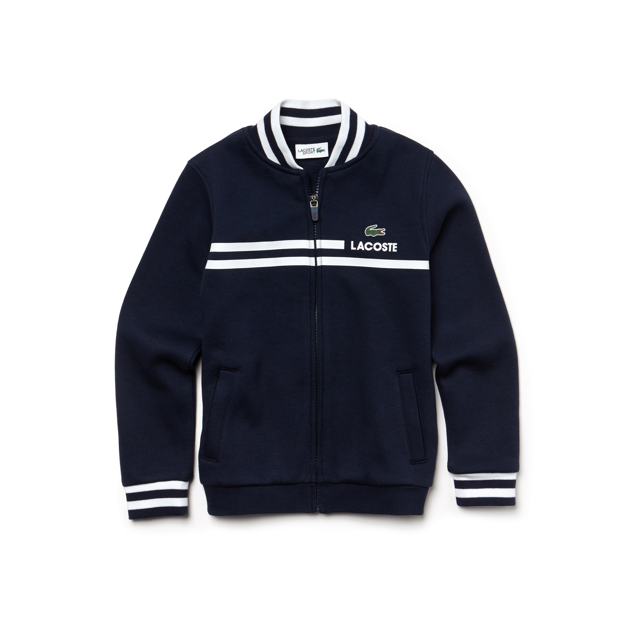 Boys' SPORT Zippered Fleece Tennis Sweatshirt