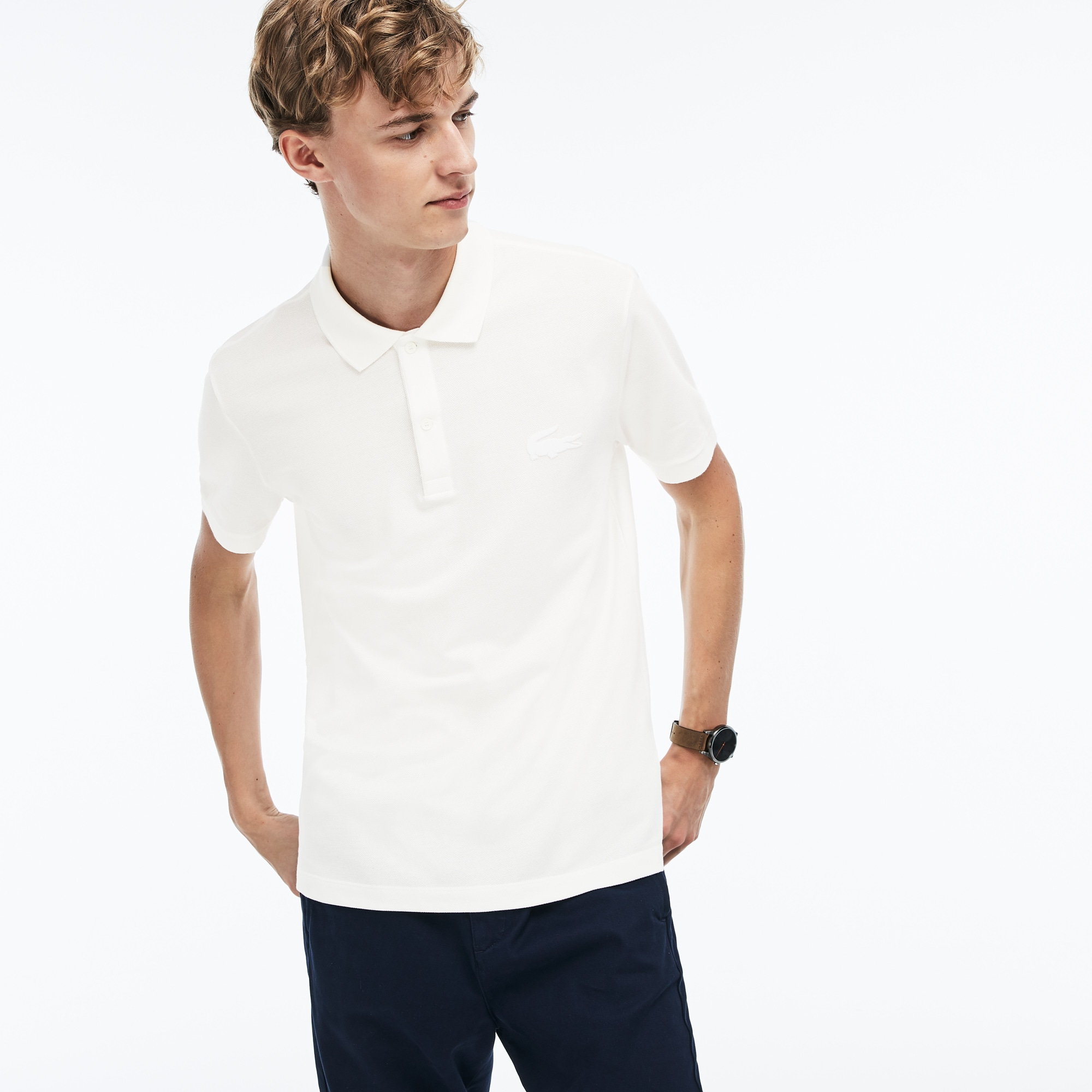 Men's Regular Fit Cotton Petit Piqué Polo