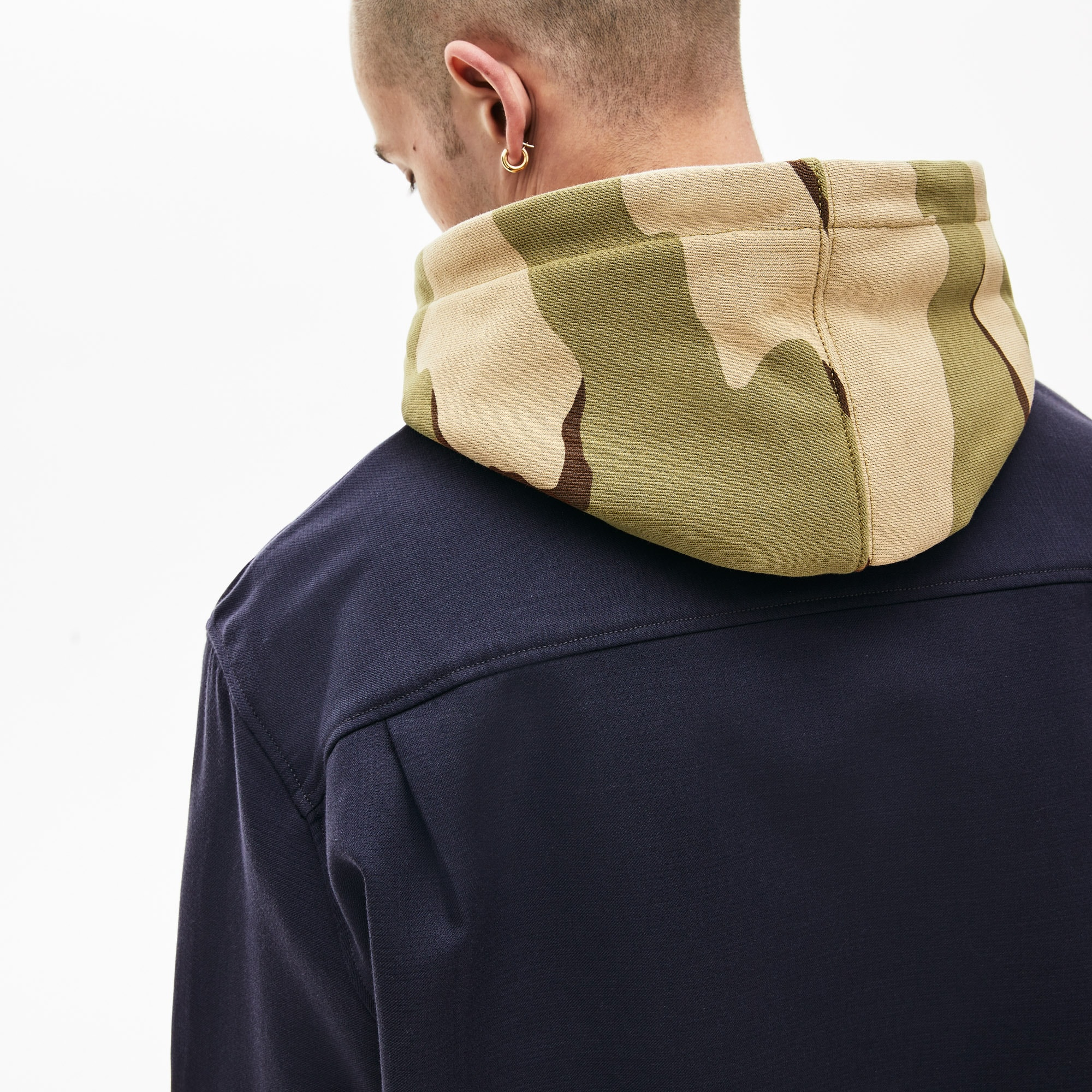 Lacoste Lacoste LIVE Pockets Thick Flannel Overshirt