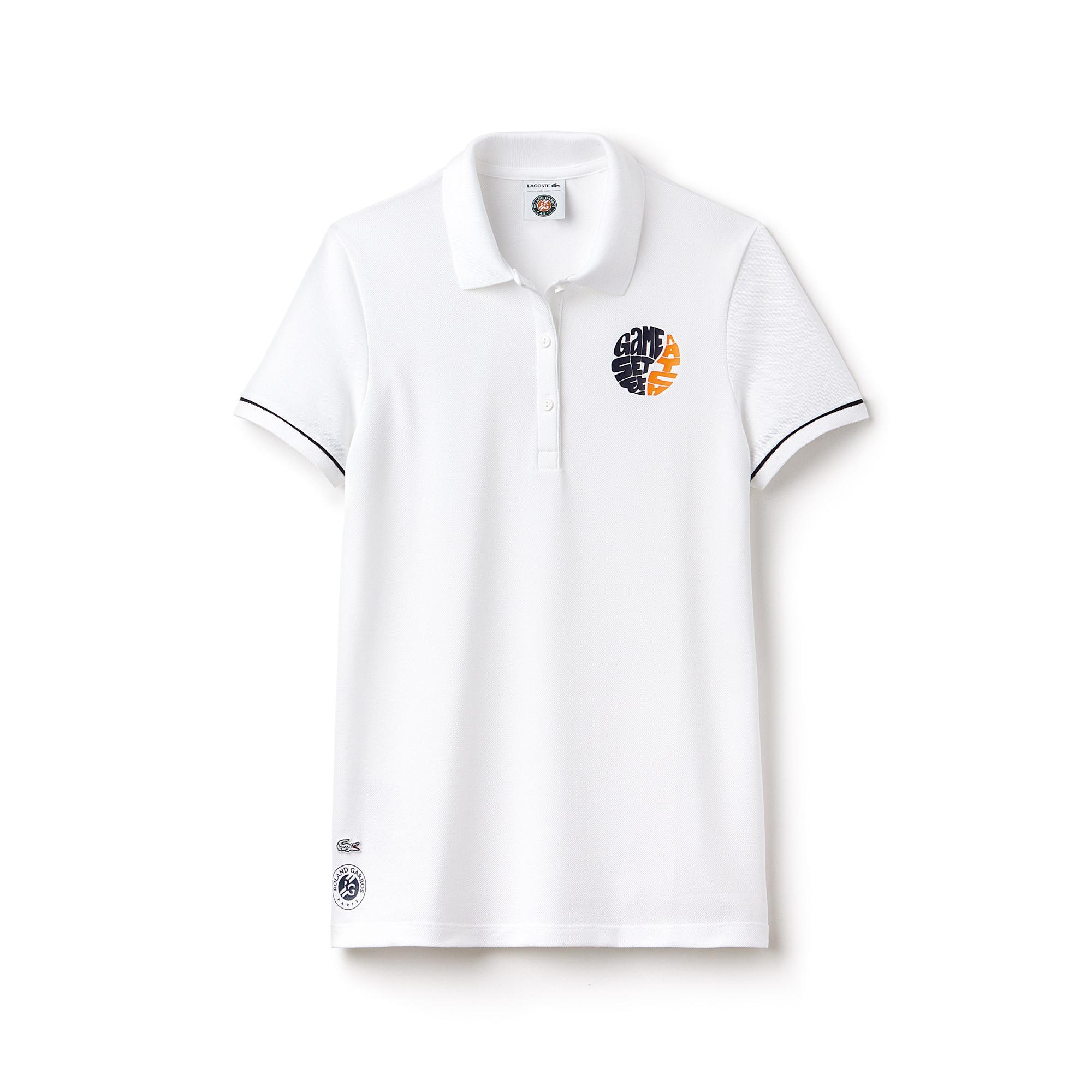 Édition Polo Stretch Mini Sport Lacoste Garros Piqué En Roland b6gfIYy7vm