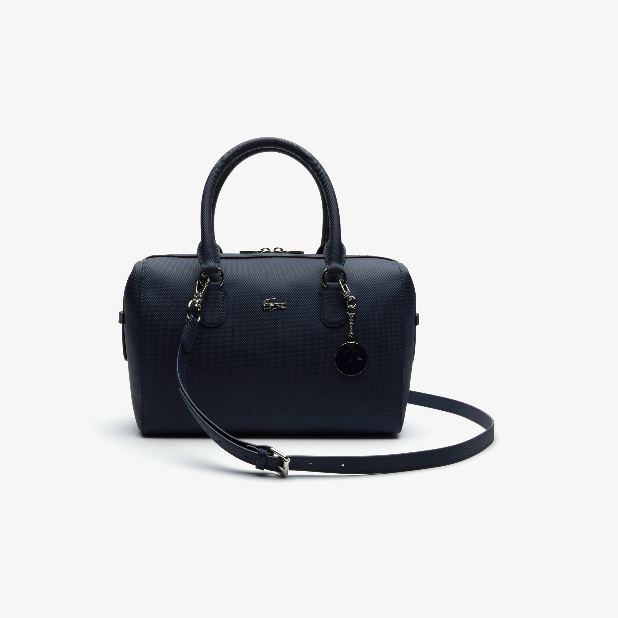 Women's Daily Classic Coated Canvas Boston Bag
