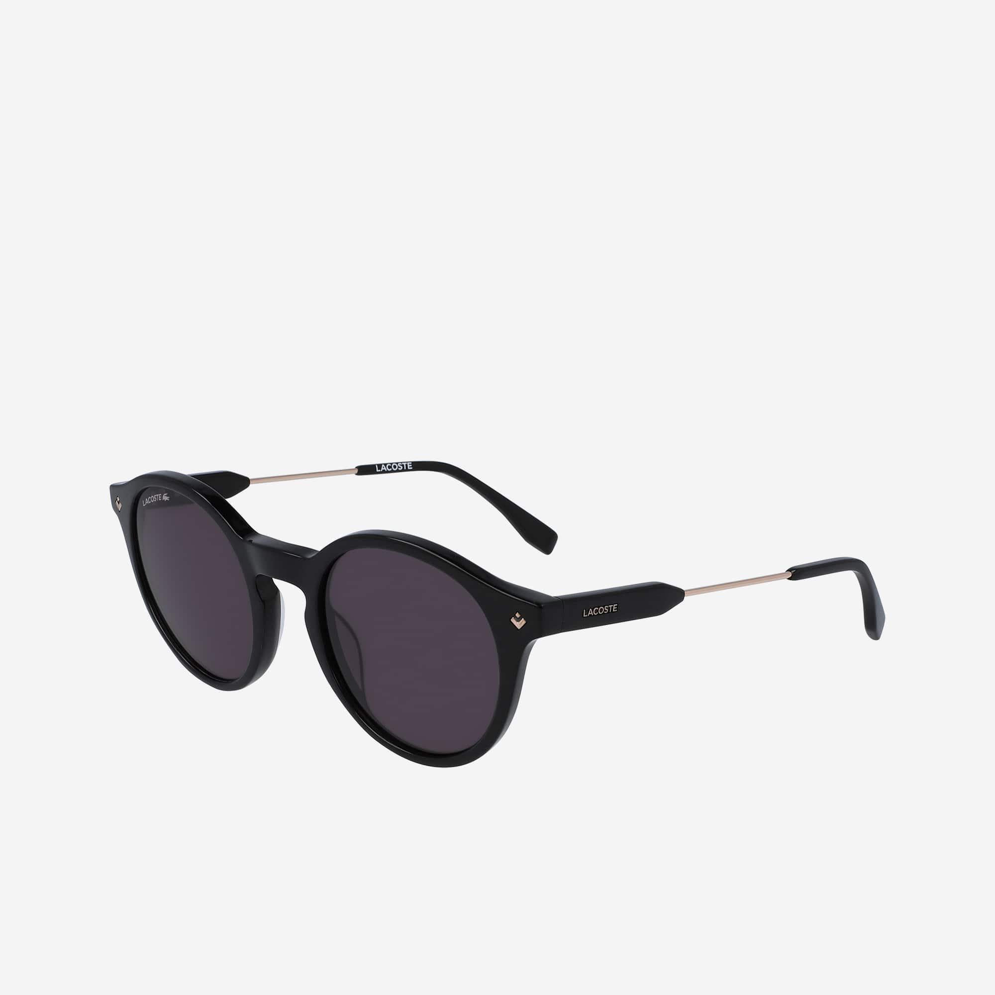 674a5c6e2c Round Acetate Petit Piqué Sunglasses