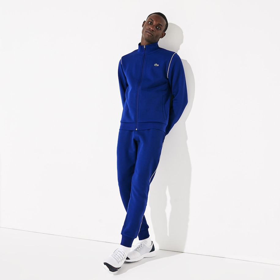 Men's SPORT Stand-up Neck Fleece Tracksuit