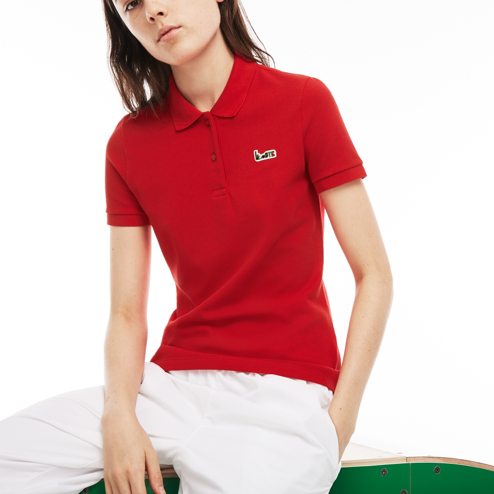 Women's M/M Collab Slim Fit Thick Cotton Piqué Polo