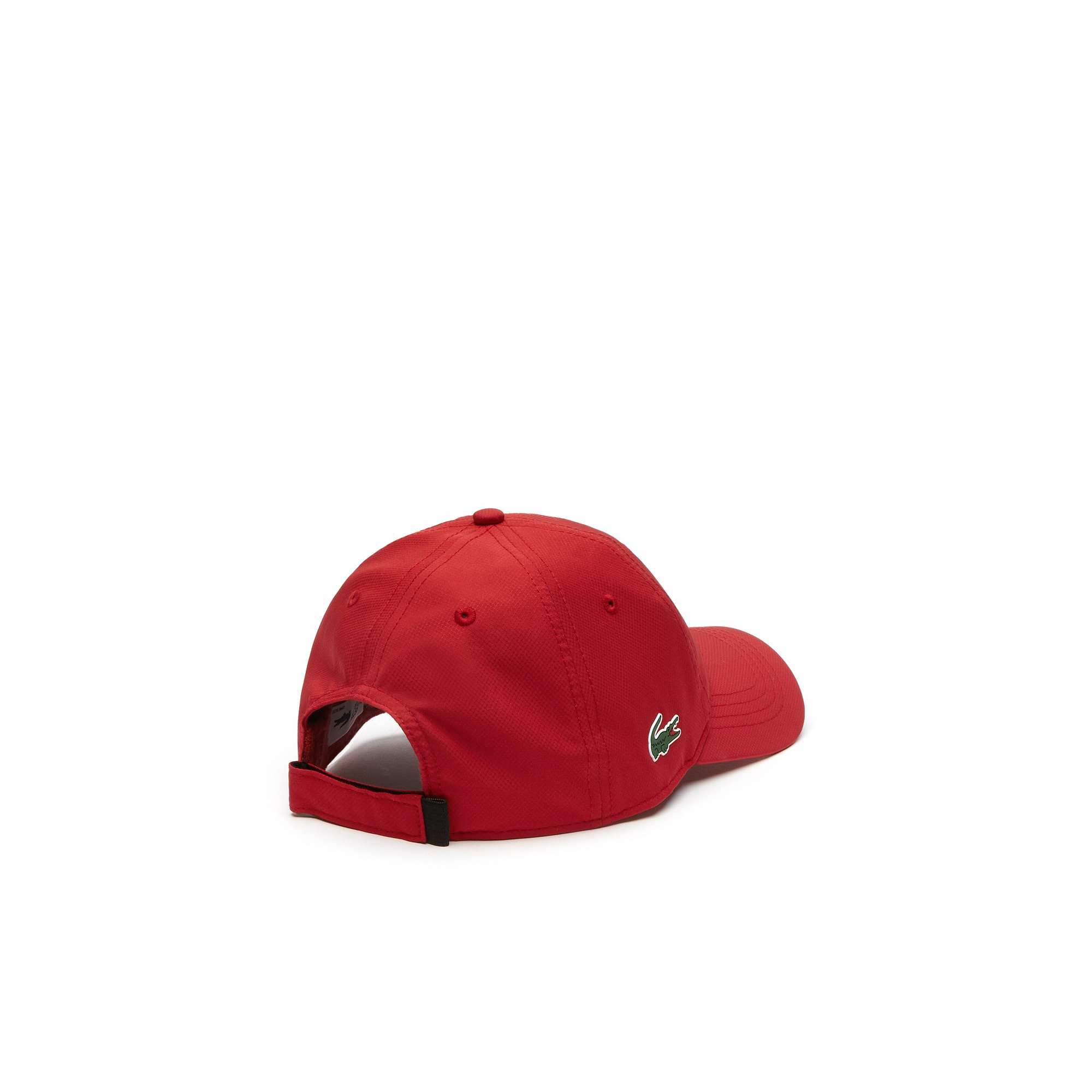 Shop Lacoste Men S Sport Taffeta Cap In Lighthouse Red cdba6f750caf