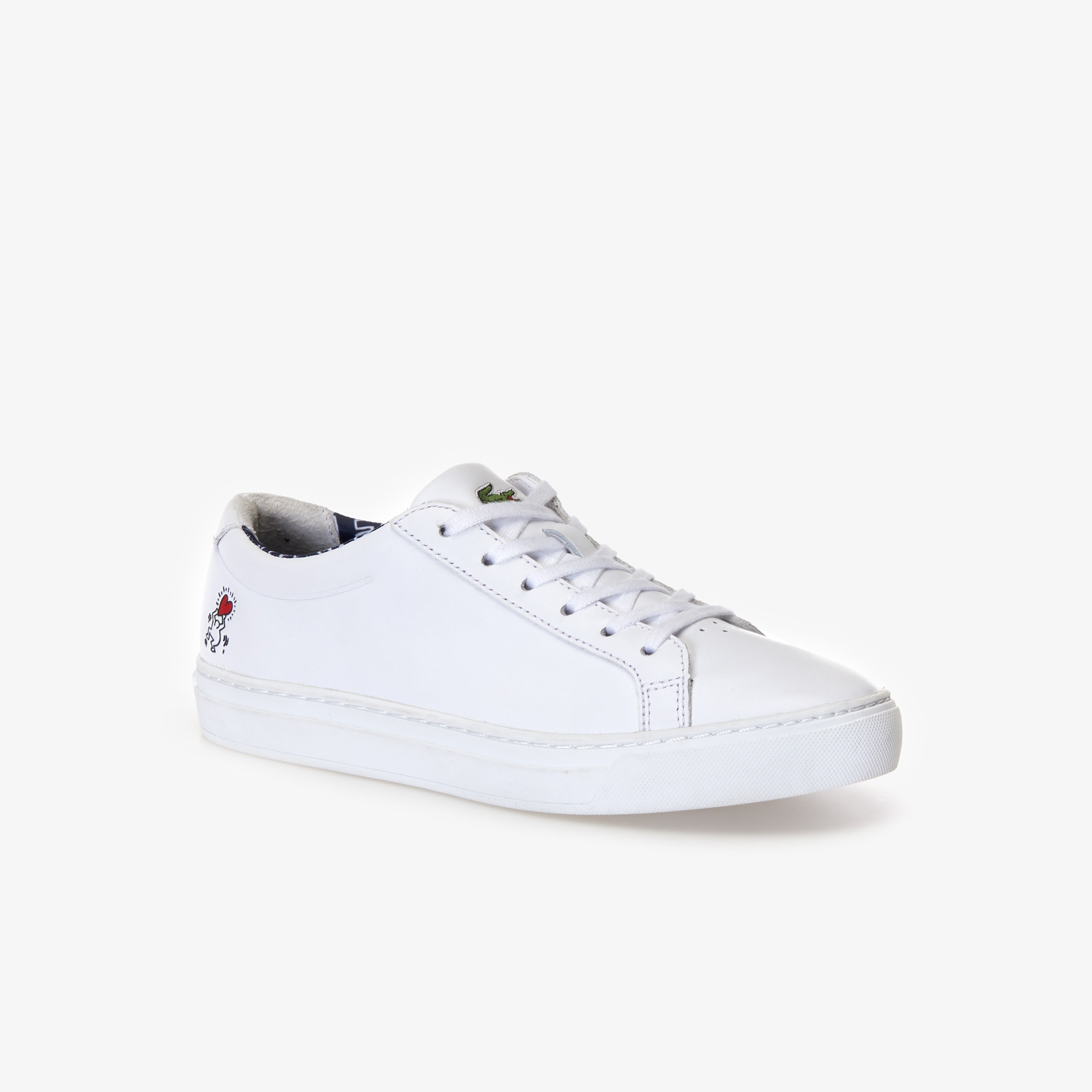 bb16fc97f7a70 Women s L.12.12 Keith Haring Leather Sneakers