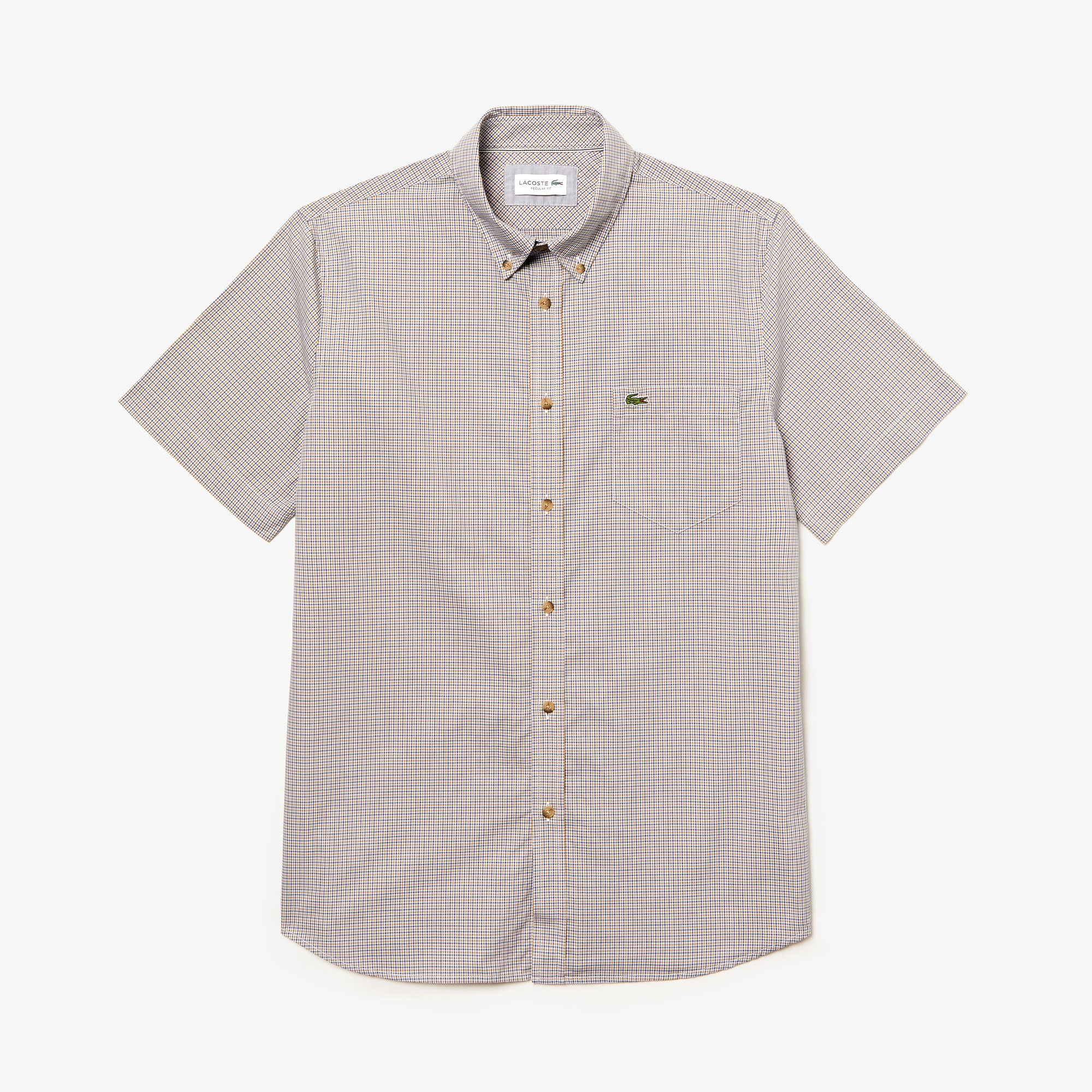 272c7223ba Button Down Shirts | Men's Fashion | LACOSTE