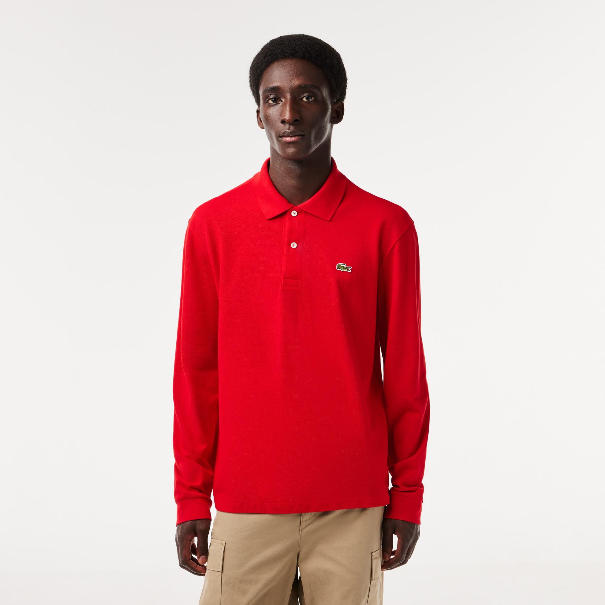 Men's Classic L.12.12 Long Sleeve Piqué Polo Shirt