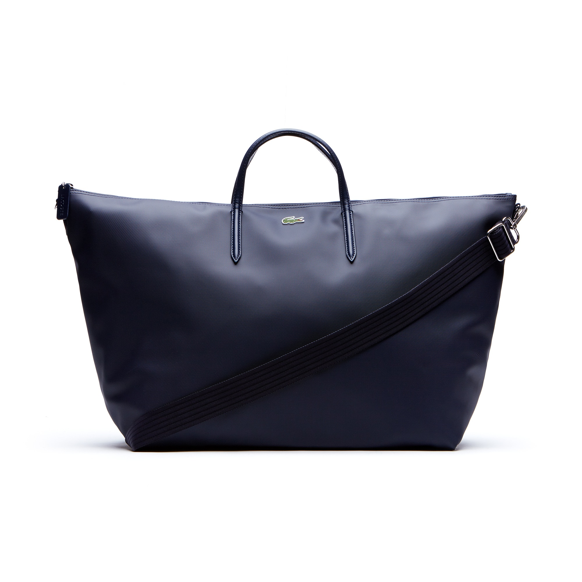 라코스테 Lacoste Womens L.12.12 Concept Weekend Tote Bag,eclipse