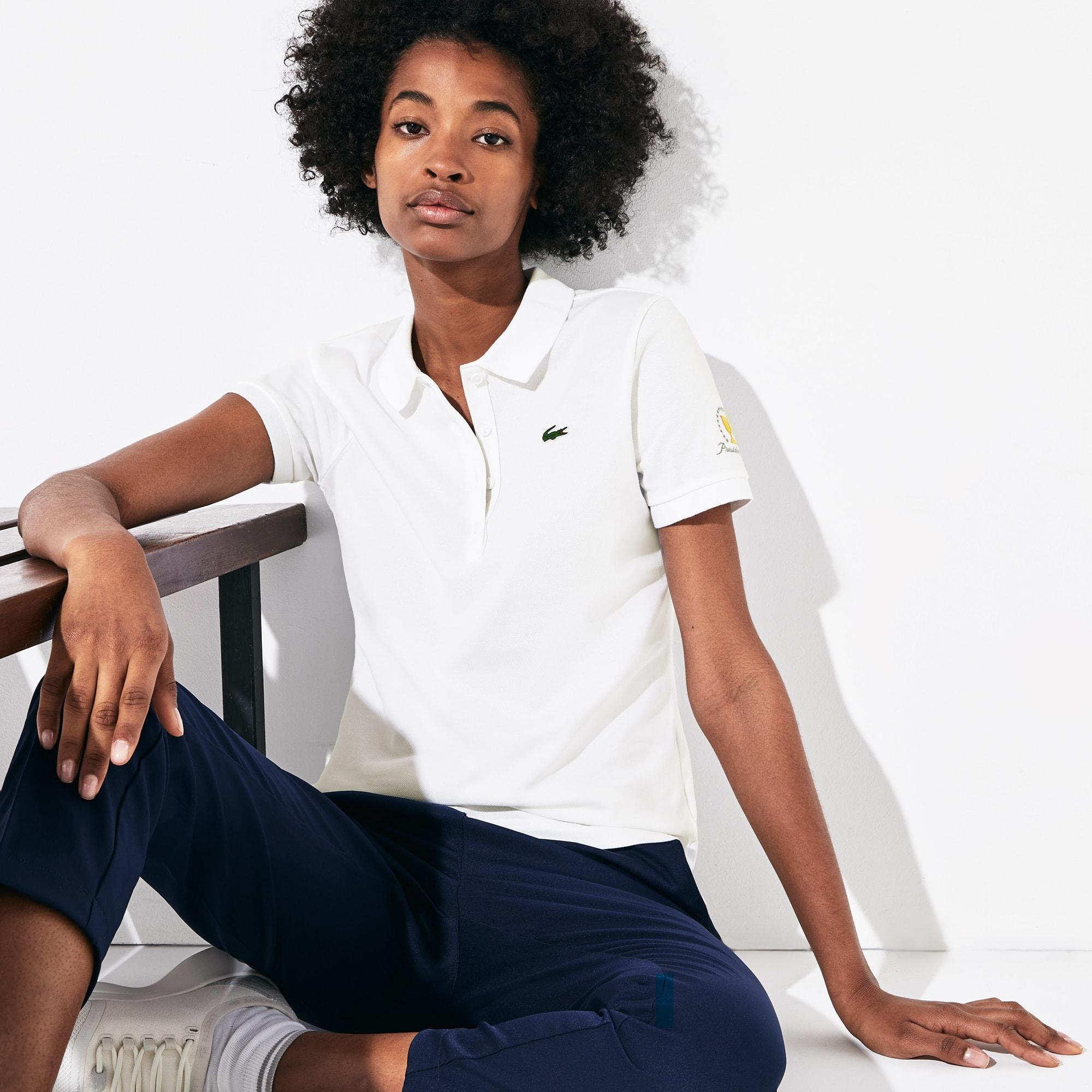 Lacoste Cottons Women's Presidents Cup Stretch Cotton Piqué Golf Polo Shirt