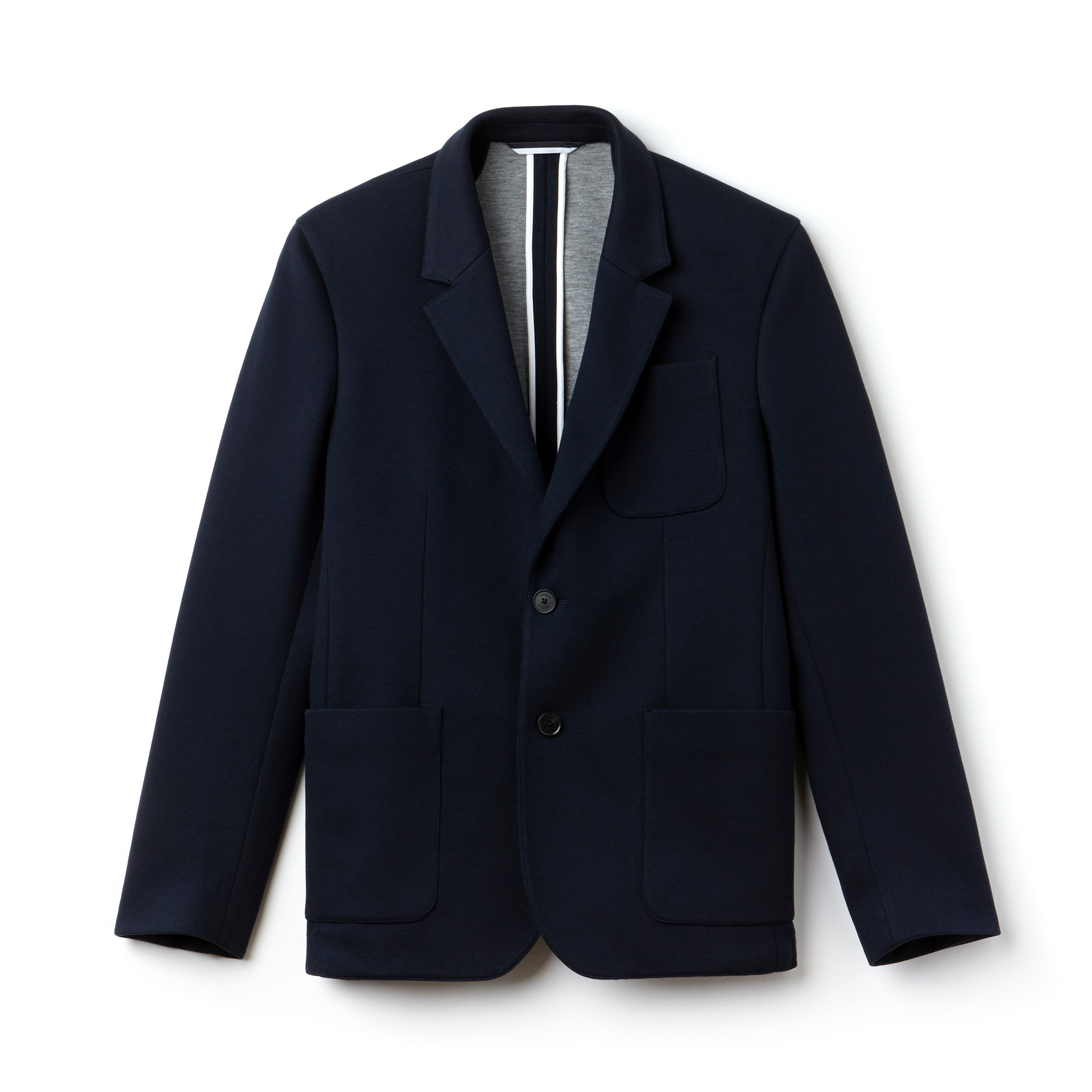 Men's Regular Fit Cotton Piqué Jacket