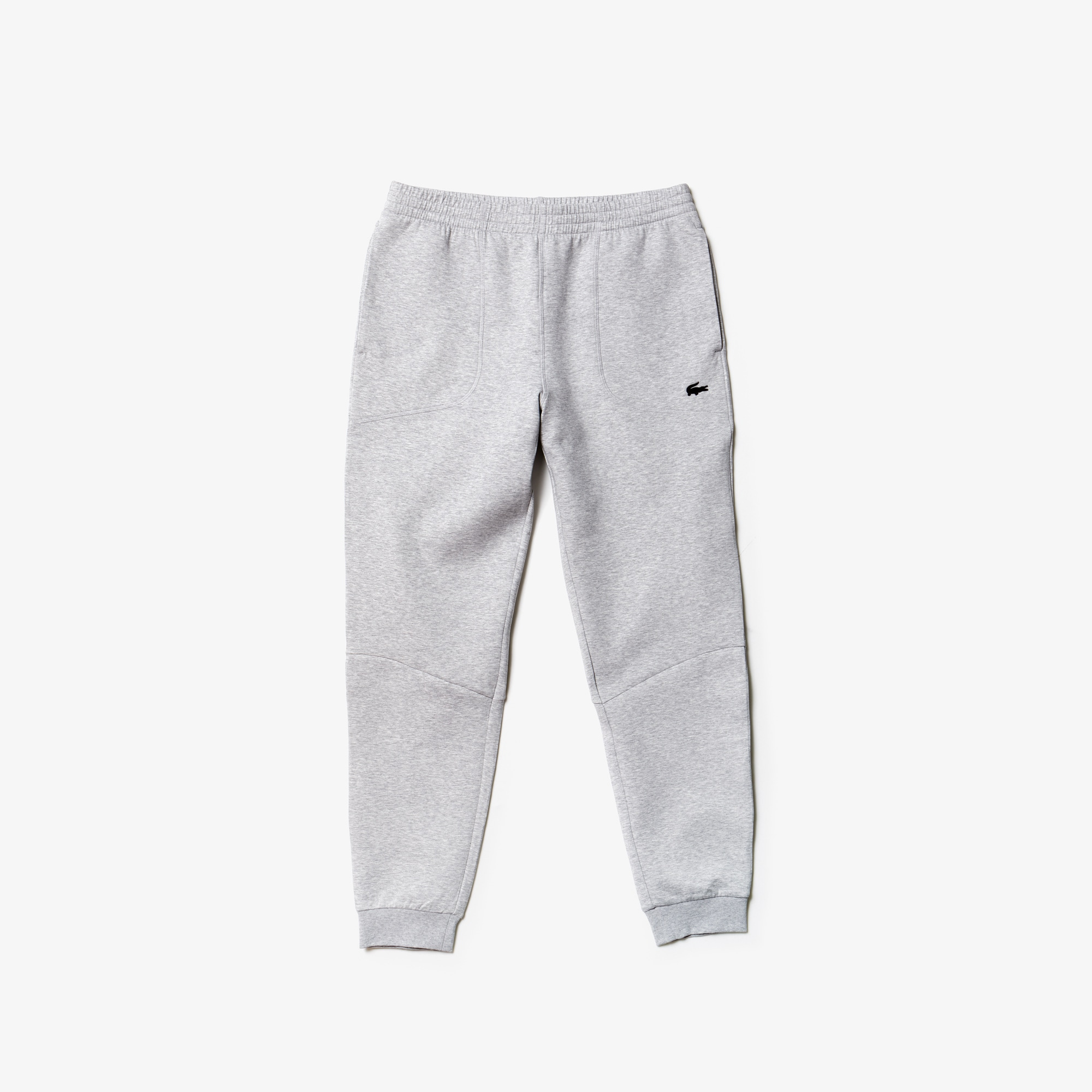 Mens 라코스테 Lacoste Motion Fleece Sweatpants,grey chine
