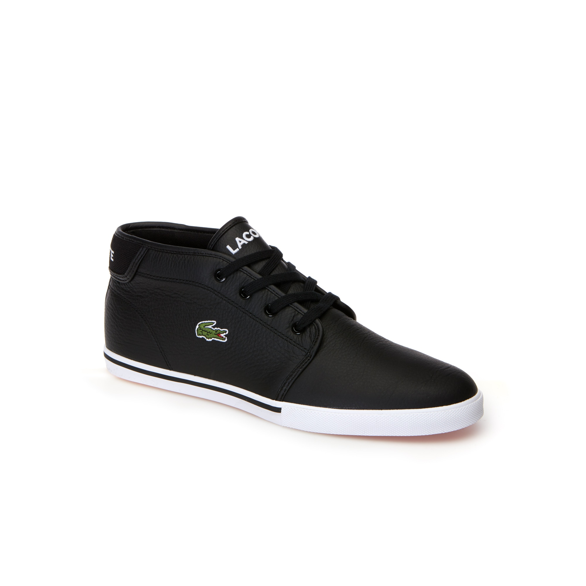 Men's Ampthill Leather Mid Trainers