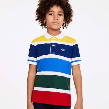 Boy's Polo Shirts | The Lacoste Polo For Kids | LACOSTE