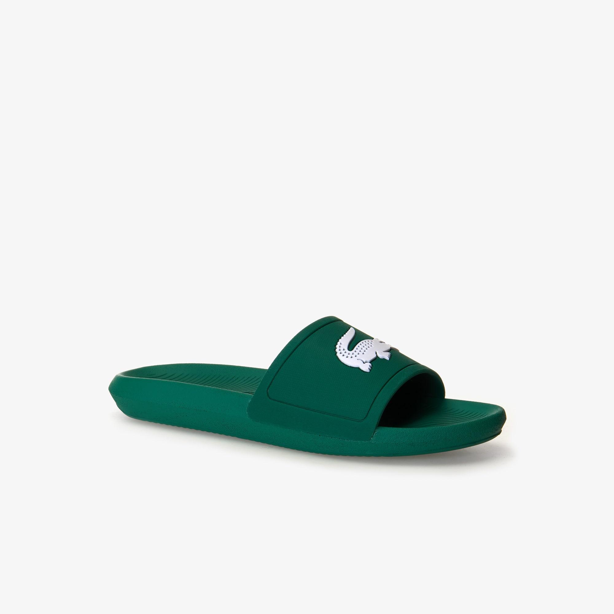 bf435c4472a436 Men s Croco Slide Rubber Slides