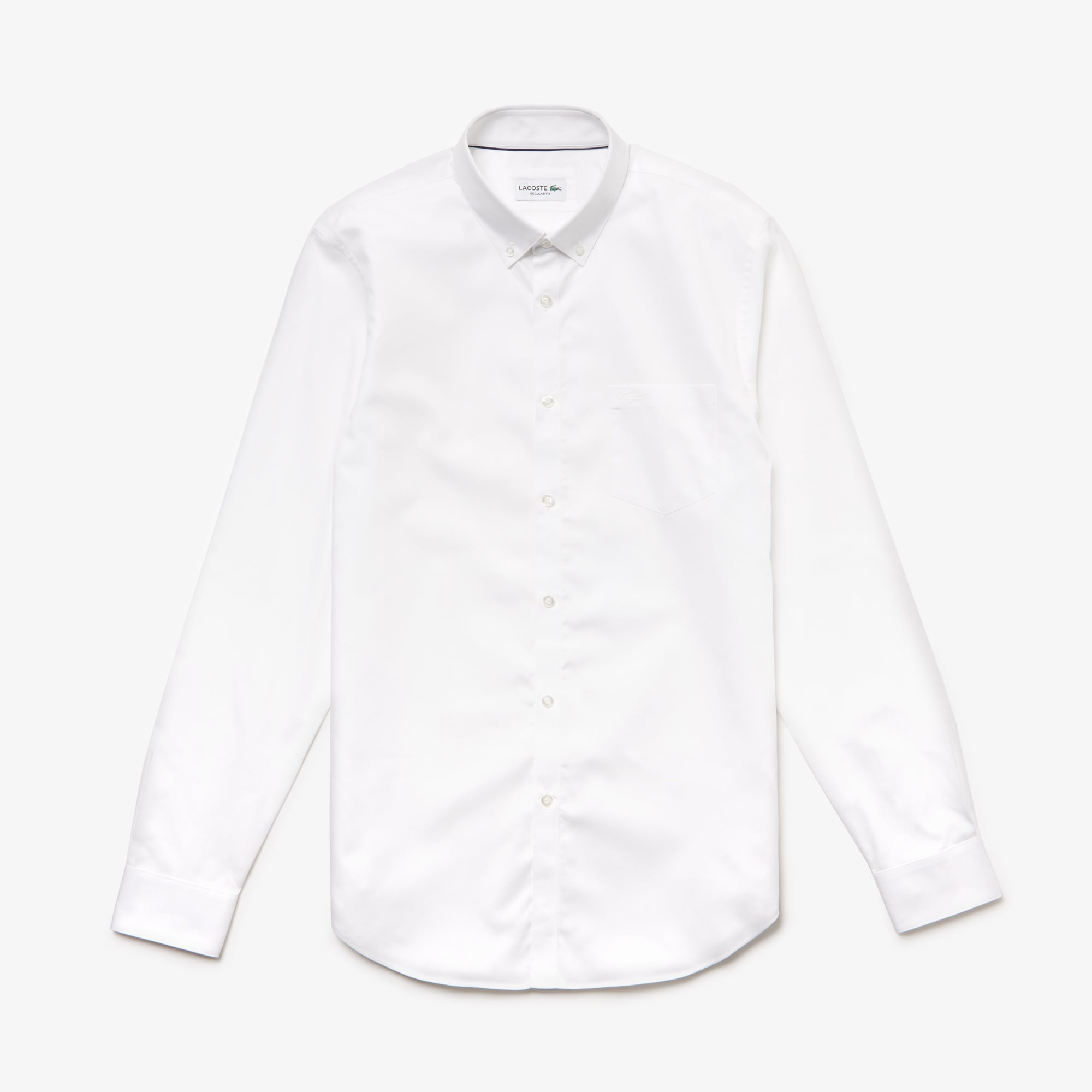 Men's Regular Fit Cotton Mini Piqué Shirt