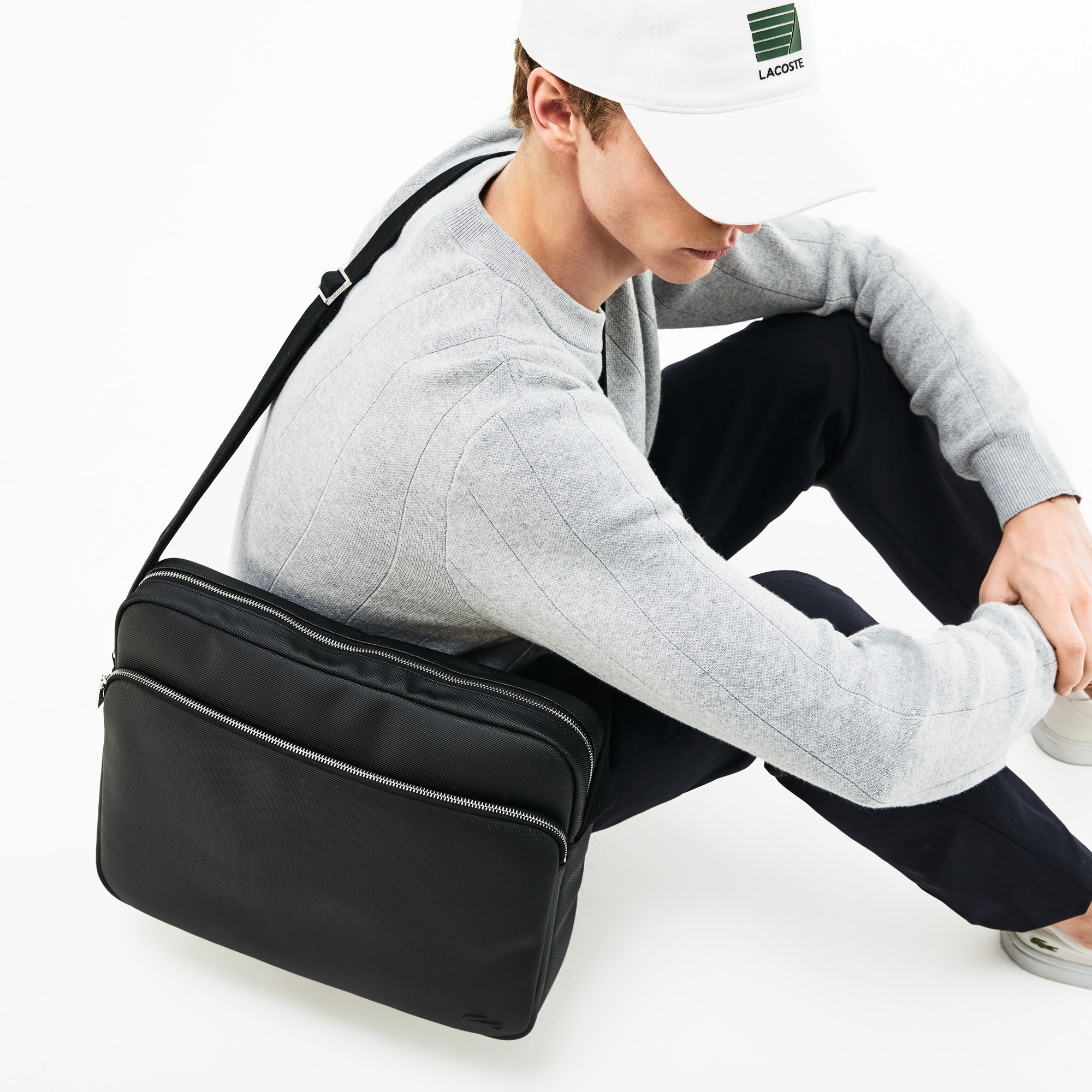 Men's Classic Petit Piqué Airline Bag