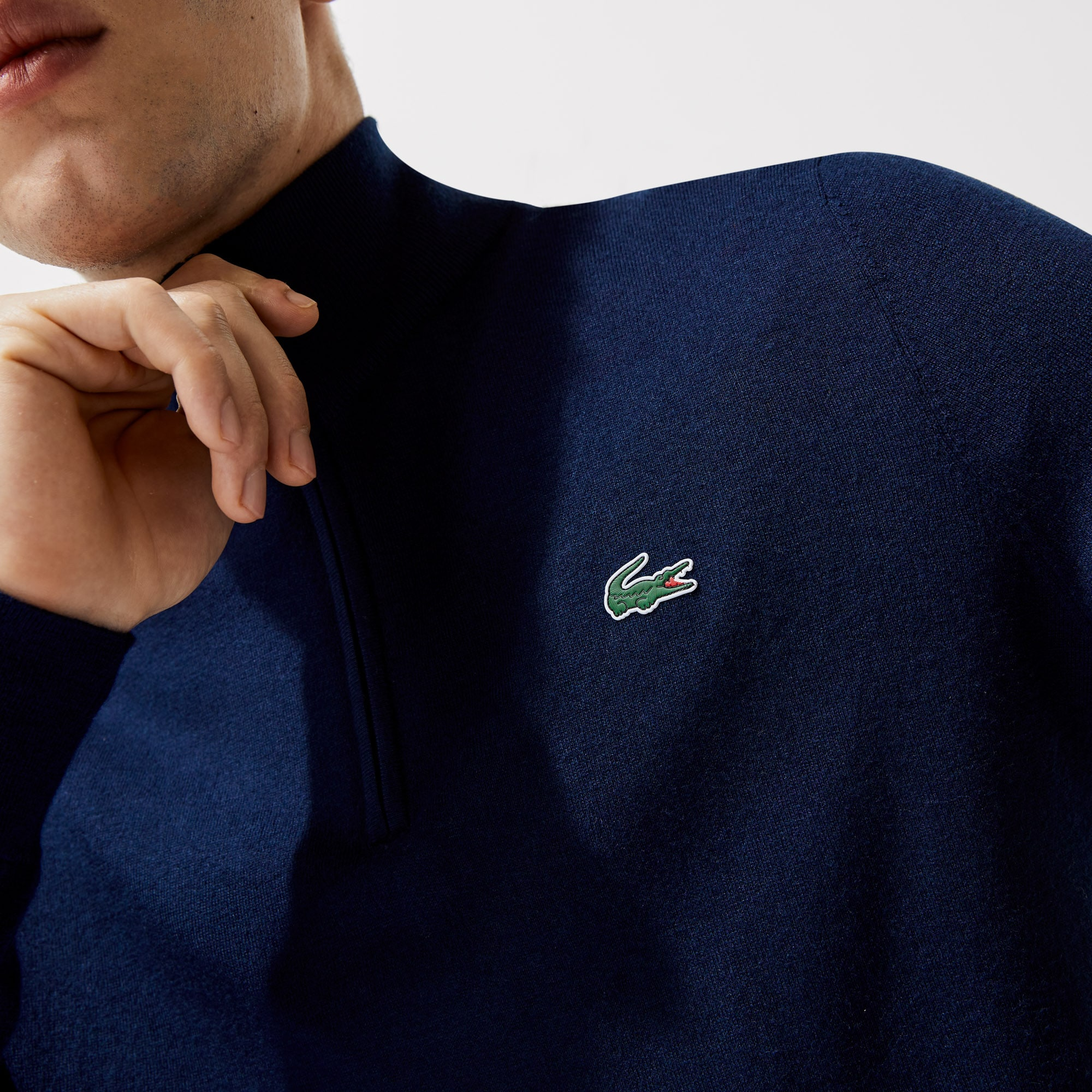 LACOSTE MENS LINED KNIT WOOL CARDIGAN FR 3//5 XS//M rrp:-£190