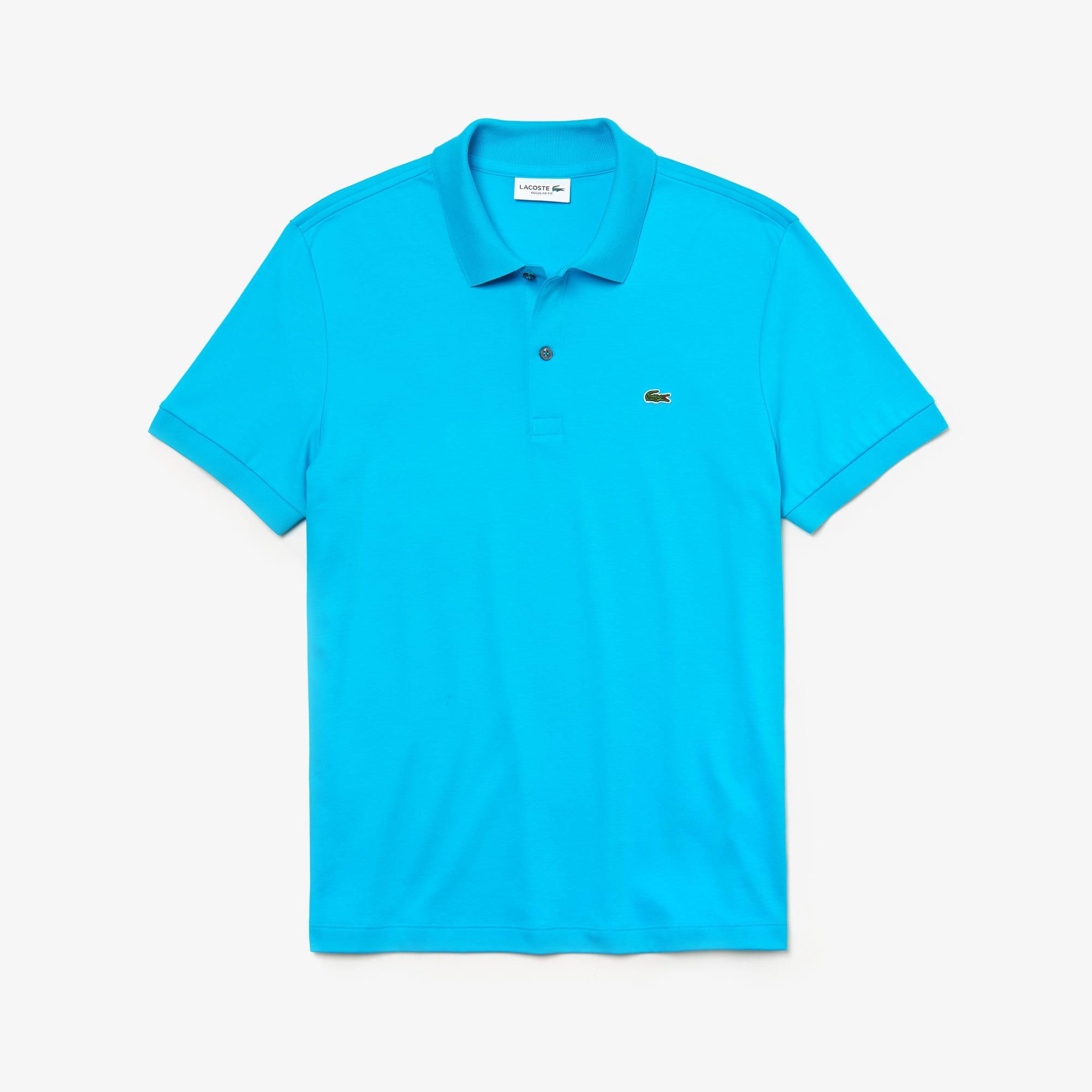 Men's Regular Fit Pima Cotton Interlock Polo