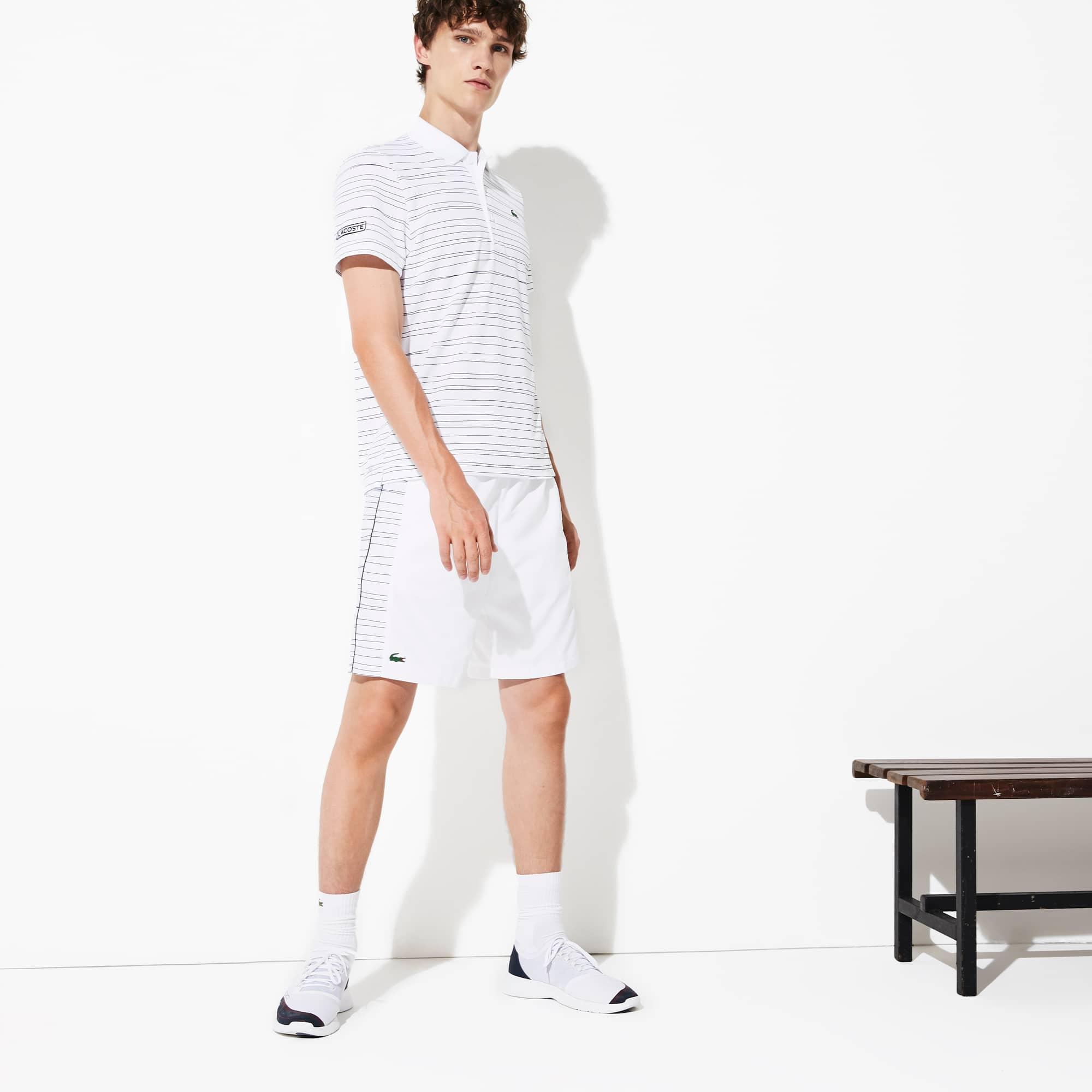 Lacoste Shorts Men's SPORT Side-Print Tennis Shorts