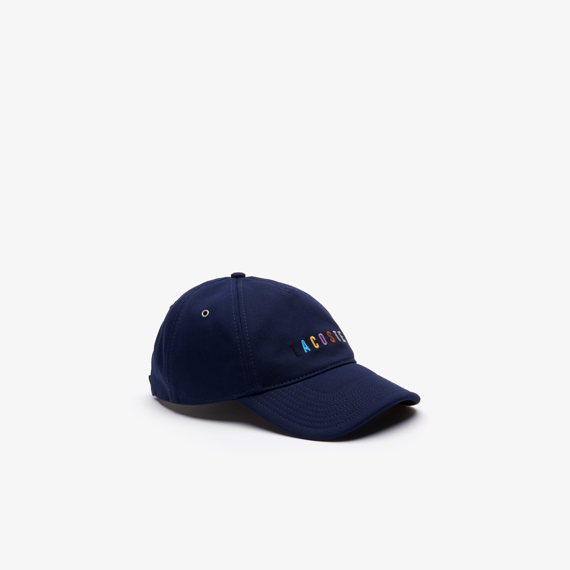 Men's Multicolored Logo Cotton Cap