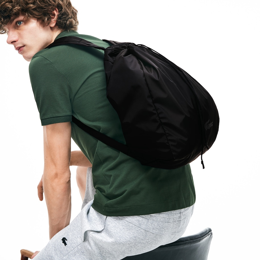 Men's Lacoste Motion Collapsible Backpack Tote Bag