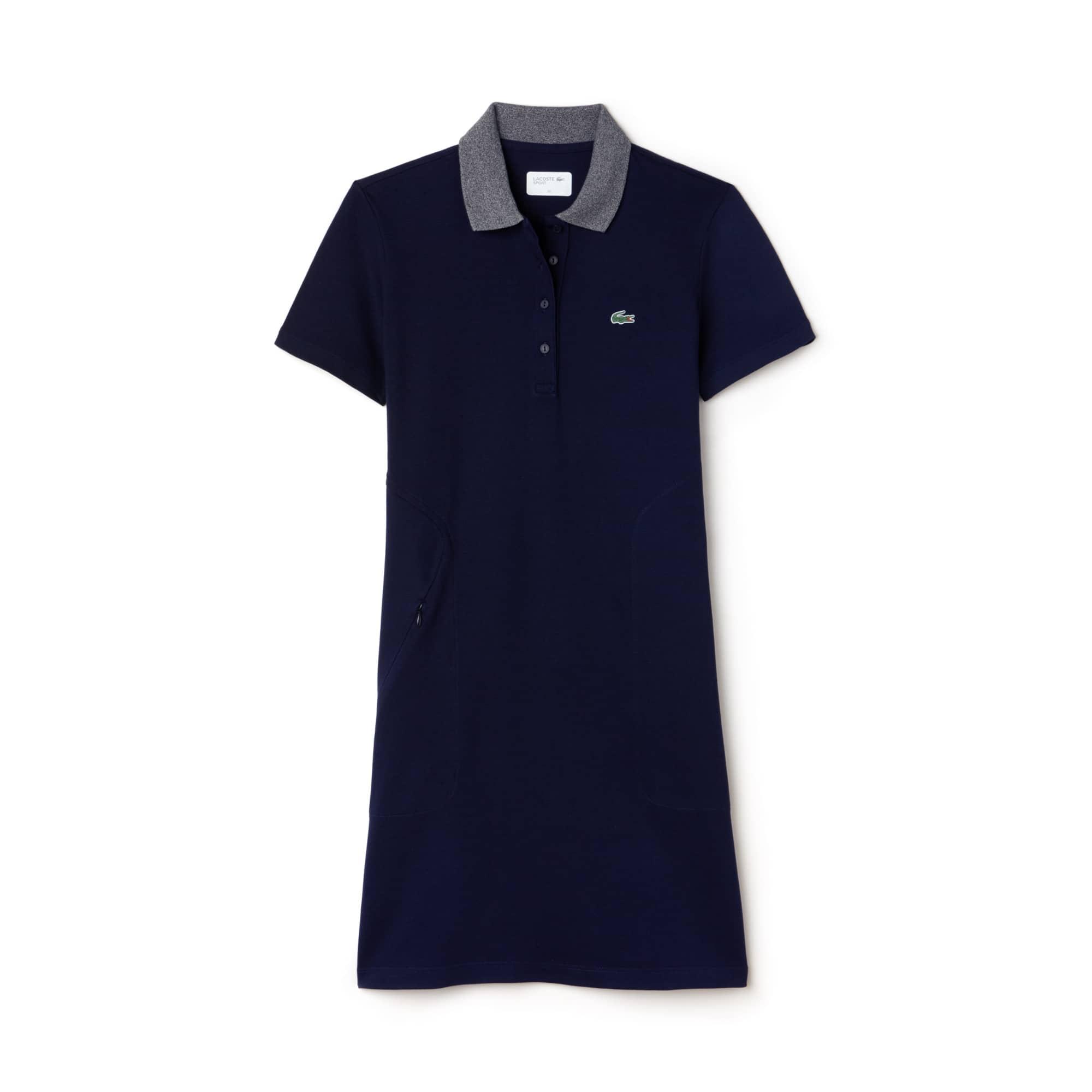 Women's Lacoste SPORT Golf Stretch Mini Piqué Polo Dress